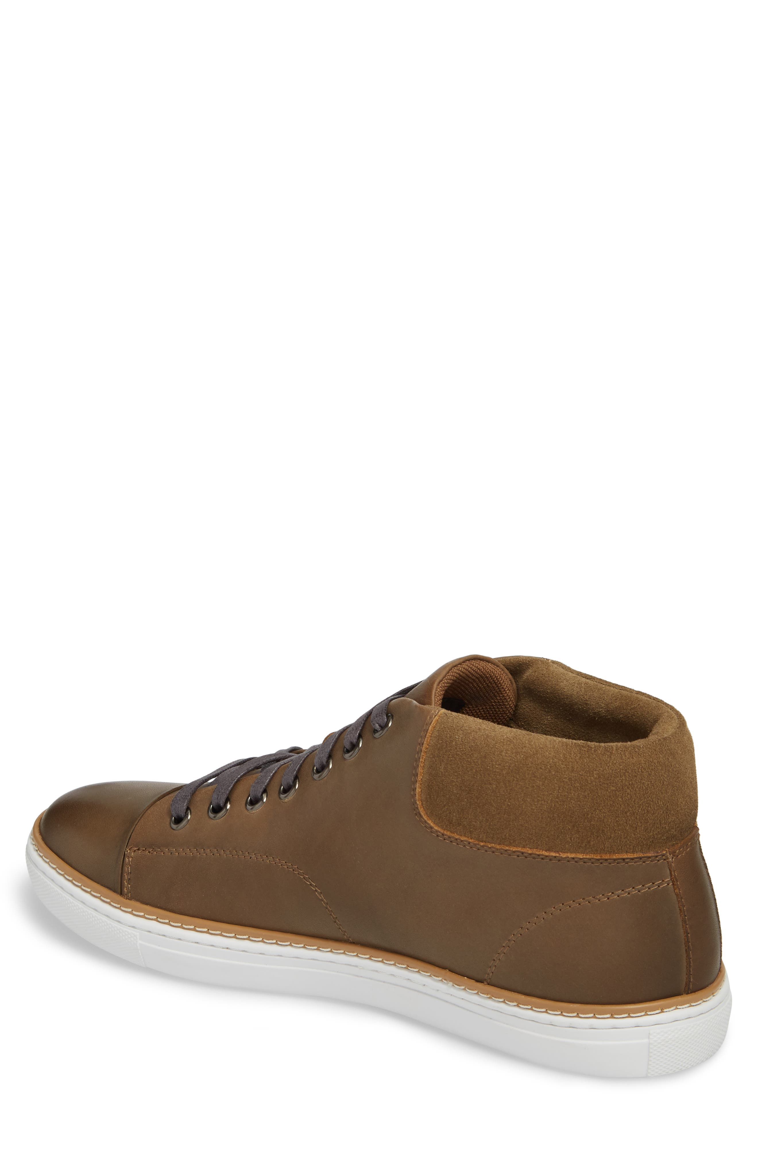 Grove Sneaker,                             Alternate thumbnail 2, color,                             Tan Leather