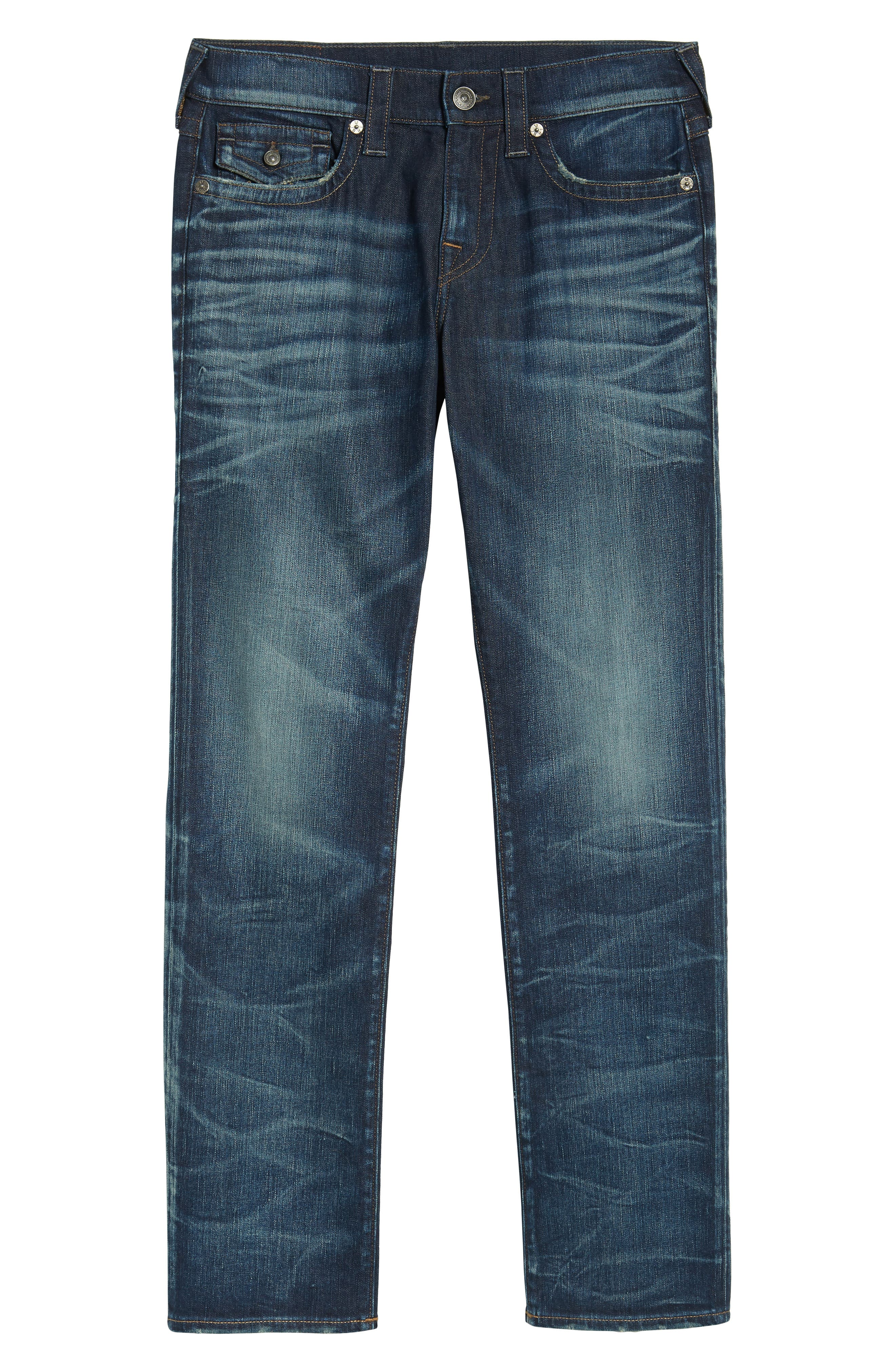 Ricky Relaxed Fit Jeans,                             Alternate thumbnail 6, color,                             Combat Blues