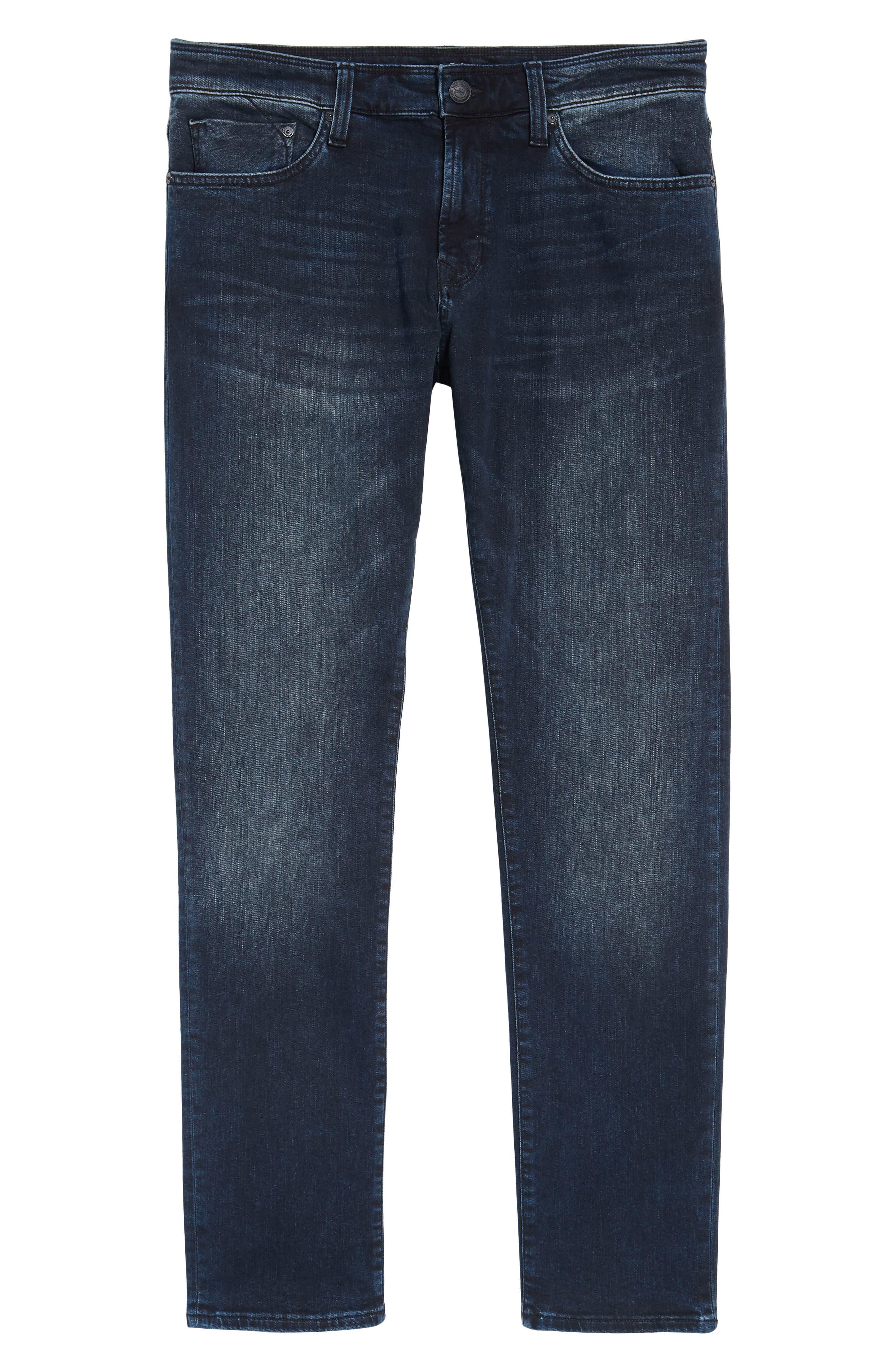 Jake Slim Fit Jeans,                             Alternate thumbnail 6, color,                             Ink Used Authentic Vintage