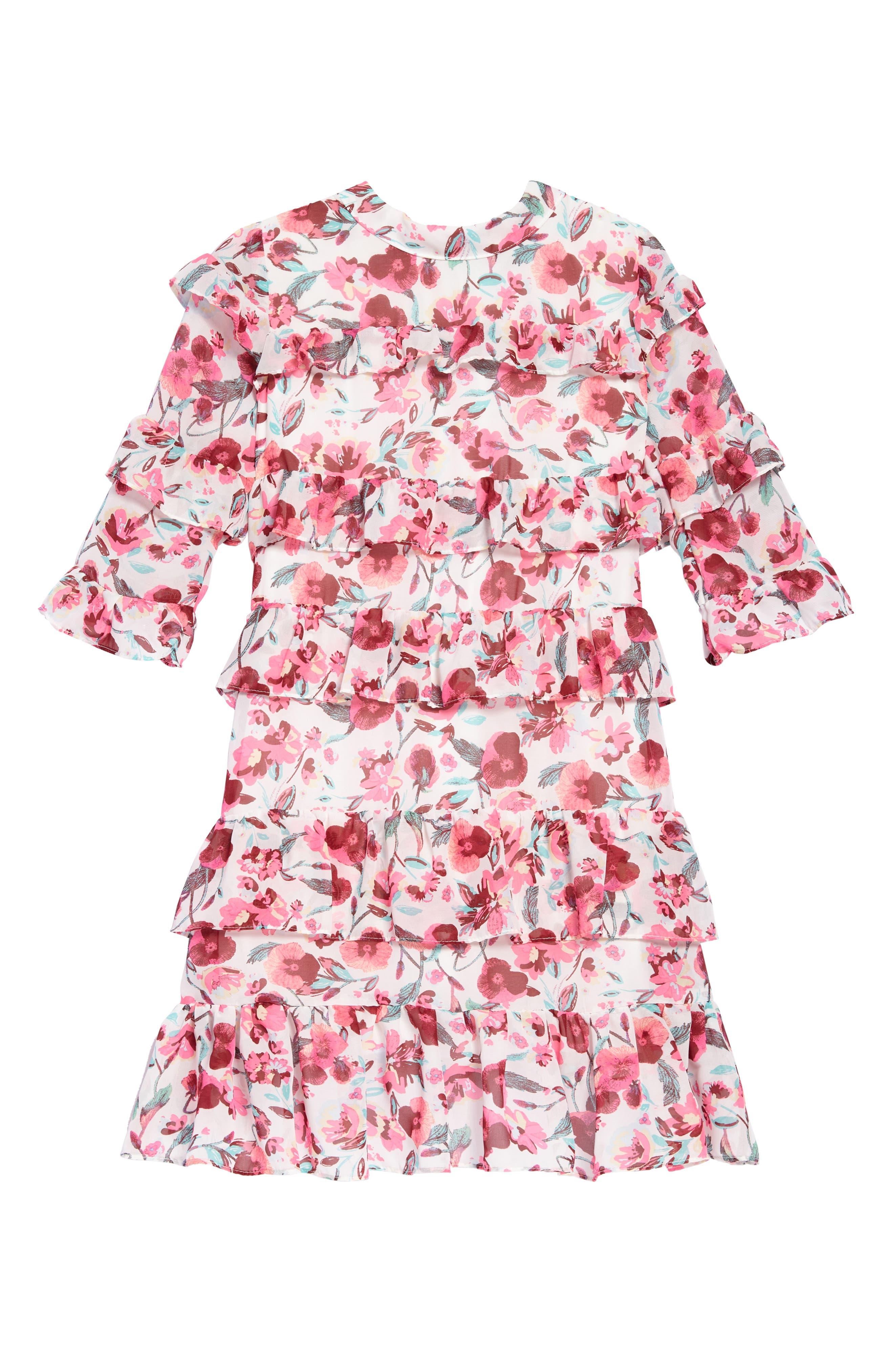 Ava & Yelly Tiered Ruffle Dress (Big Girls)