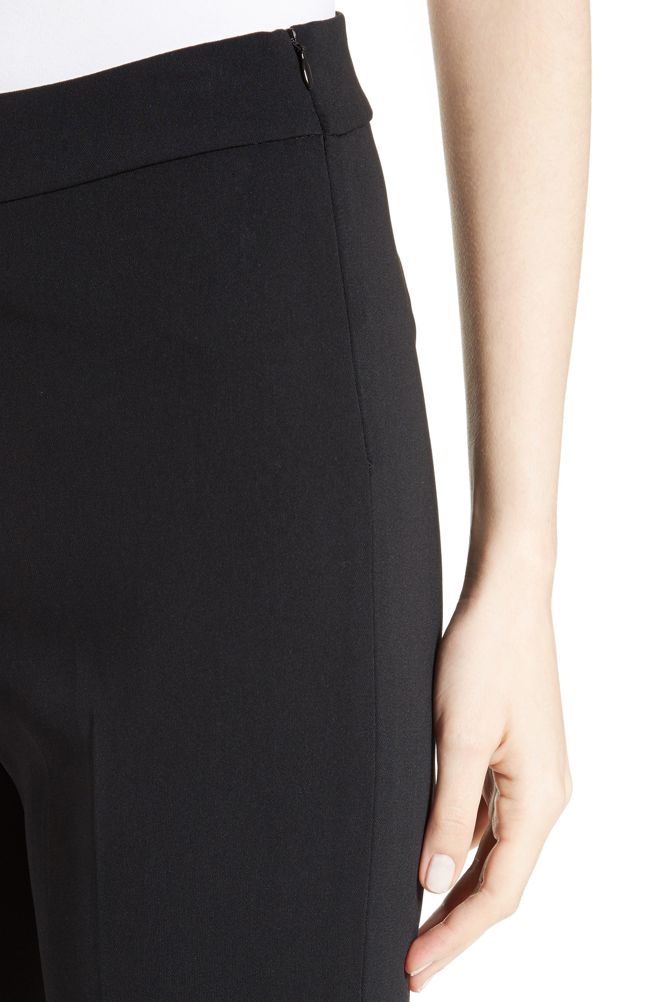 Alternate Image 3  - St. John Collection Alexa Scuba Bi-Stretch Slim Crop Pants