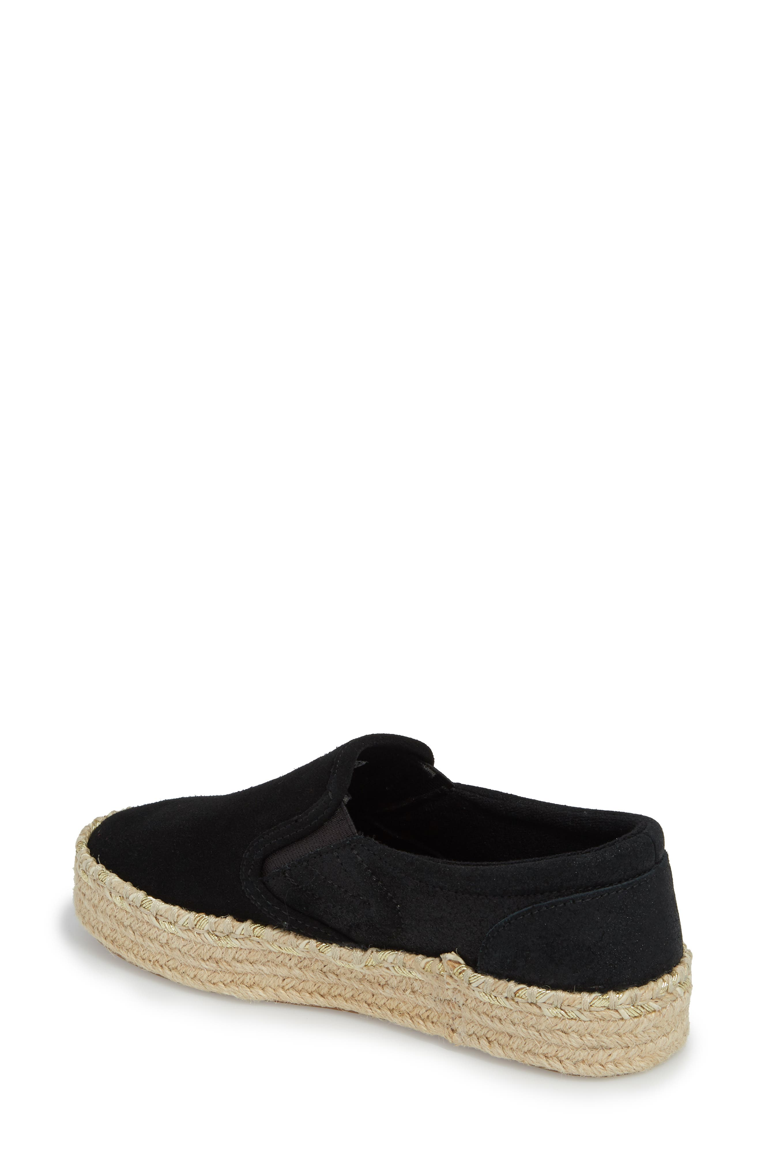 Alternate Image 2  - Tretorn Espadrille Slip-On (Women)