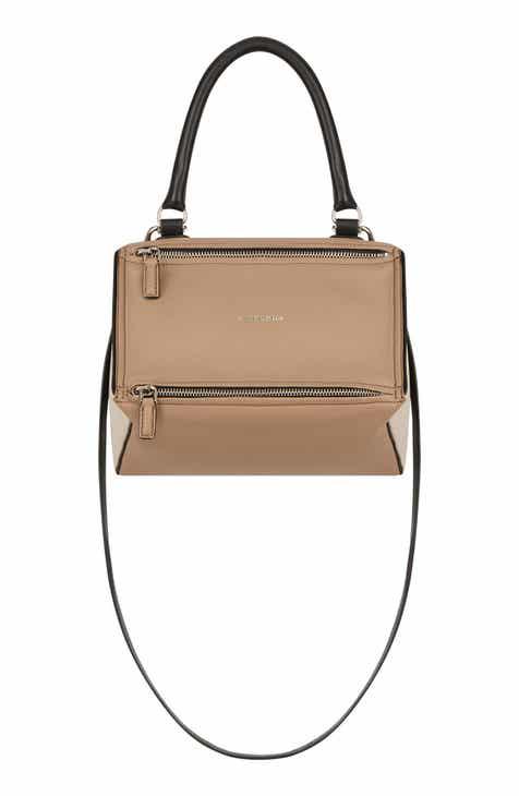 7c791db1caf Givenchy Small Pandora Box Tricolor Leather Crossbody Bag