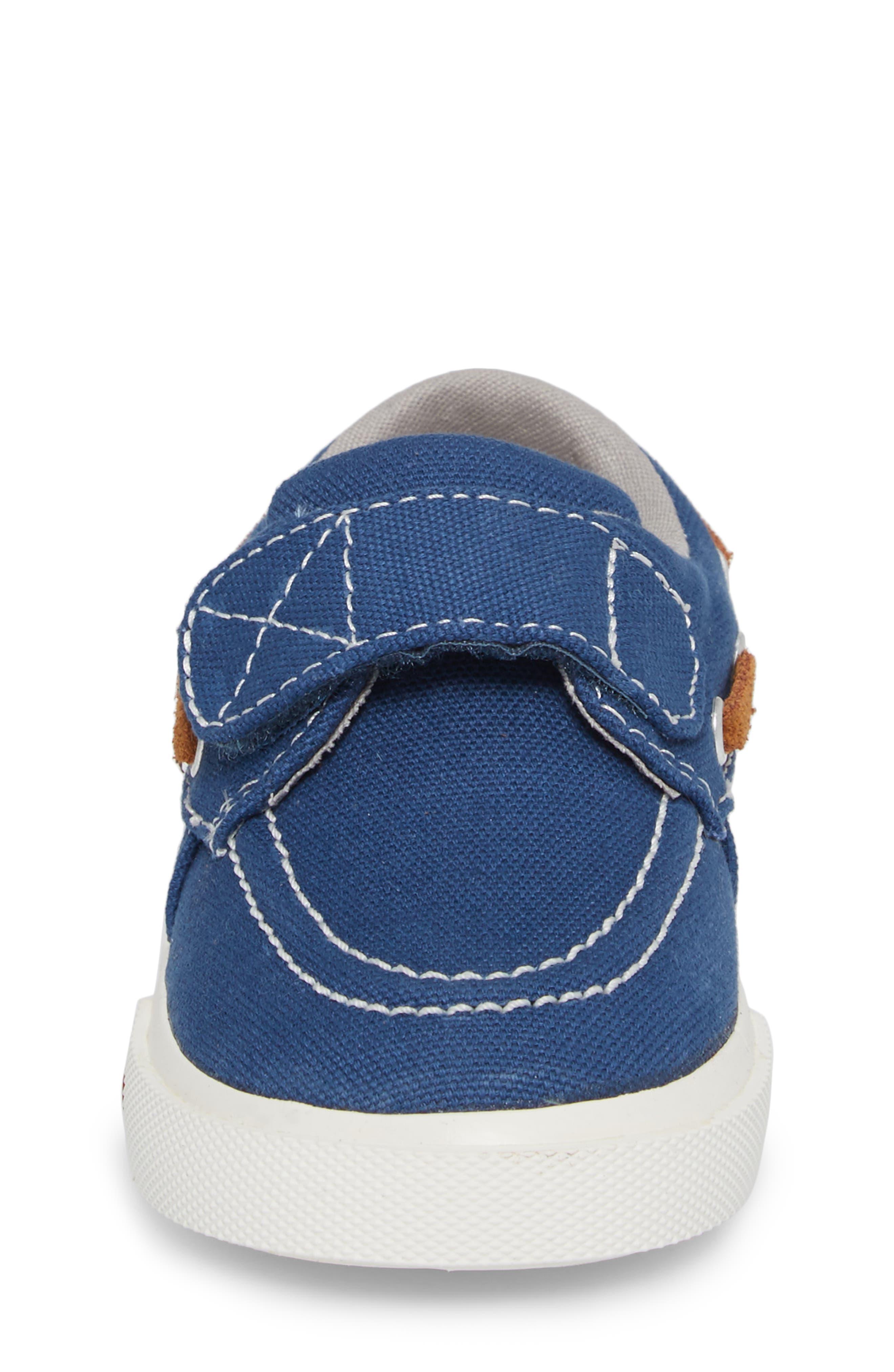 Elias Sneaker,                             Alternate thumbnail 4, color,                             Blue