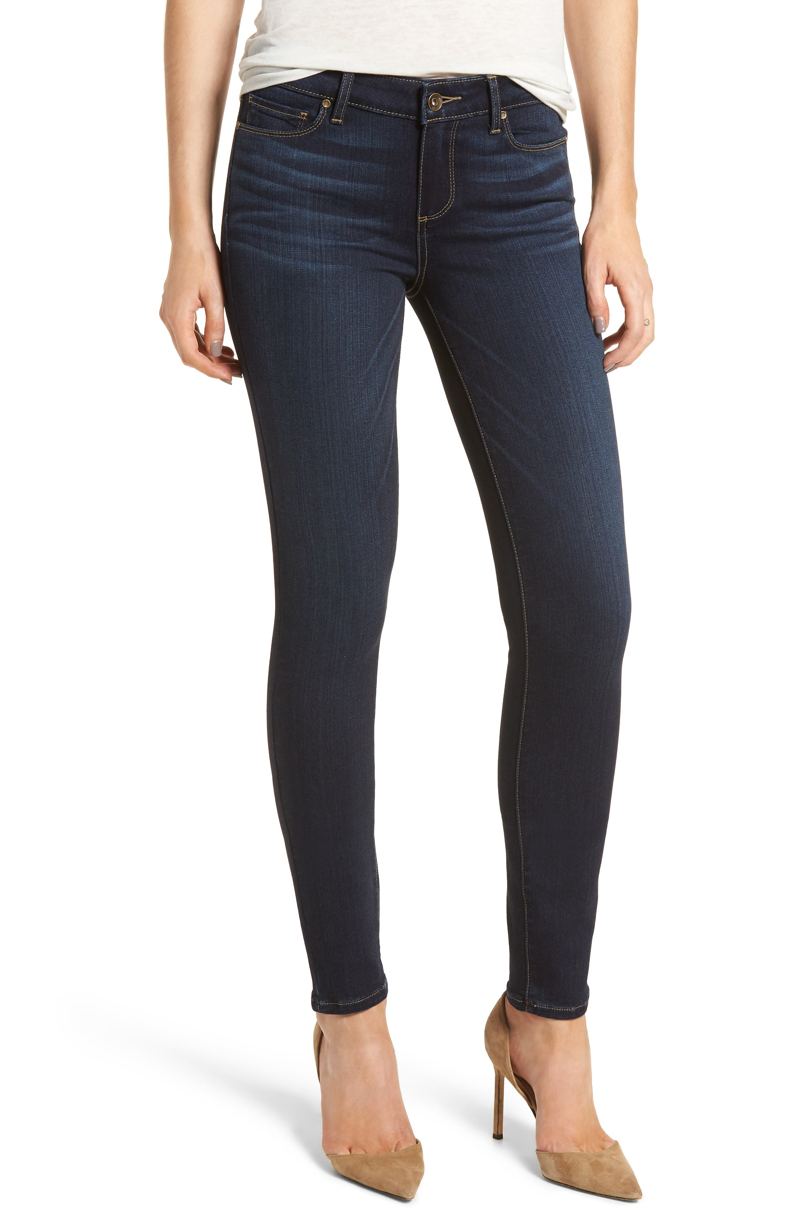 Transcend - Verdugo Ultra Skinny Jeans,                             Main thumbnail 1, color,                             Koda
