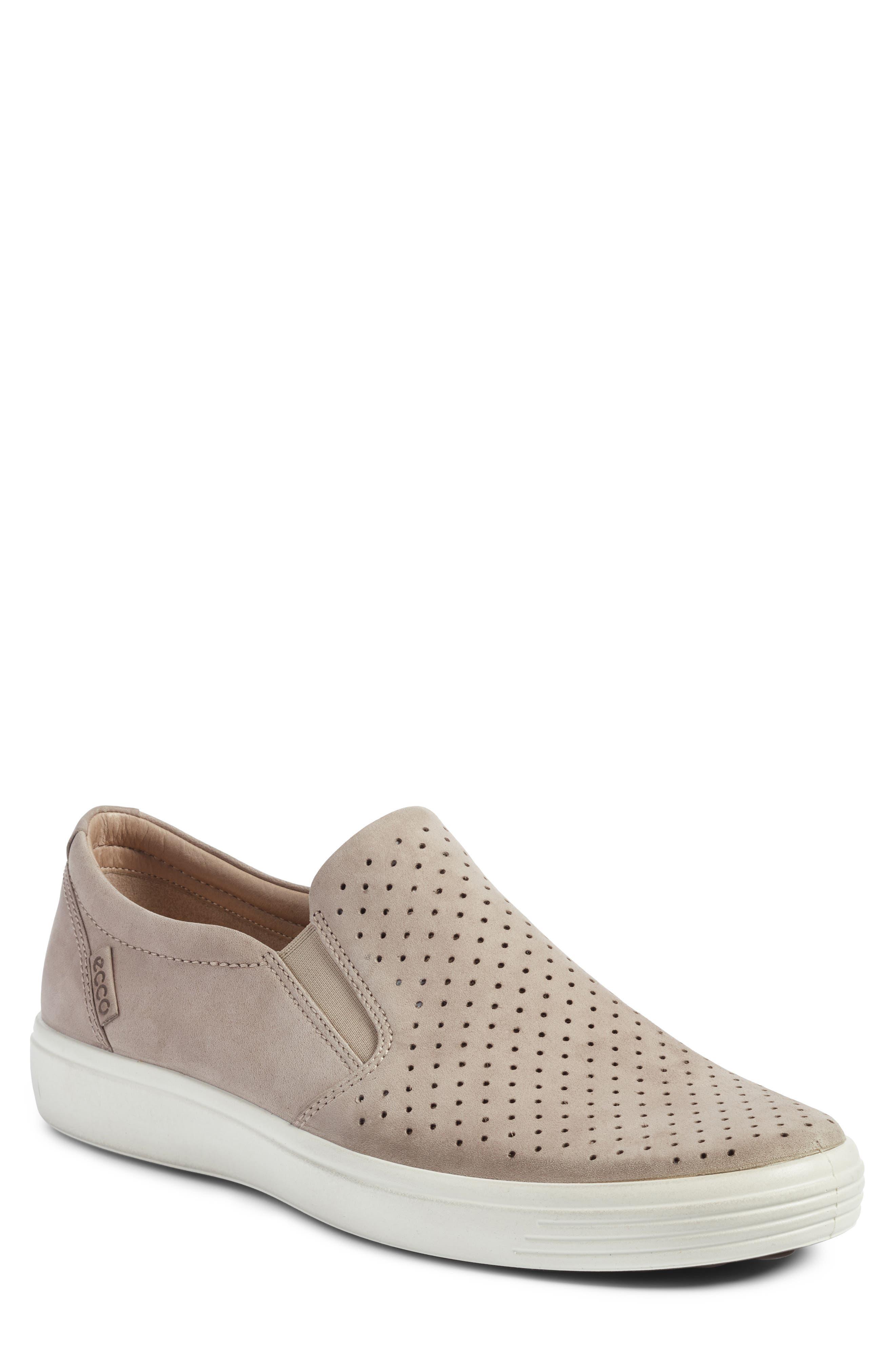 Soft 7 Retro Slip-On Sneaker,                             Main thumbnail 1, color,                             Moonrock Leather