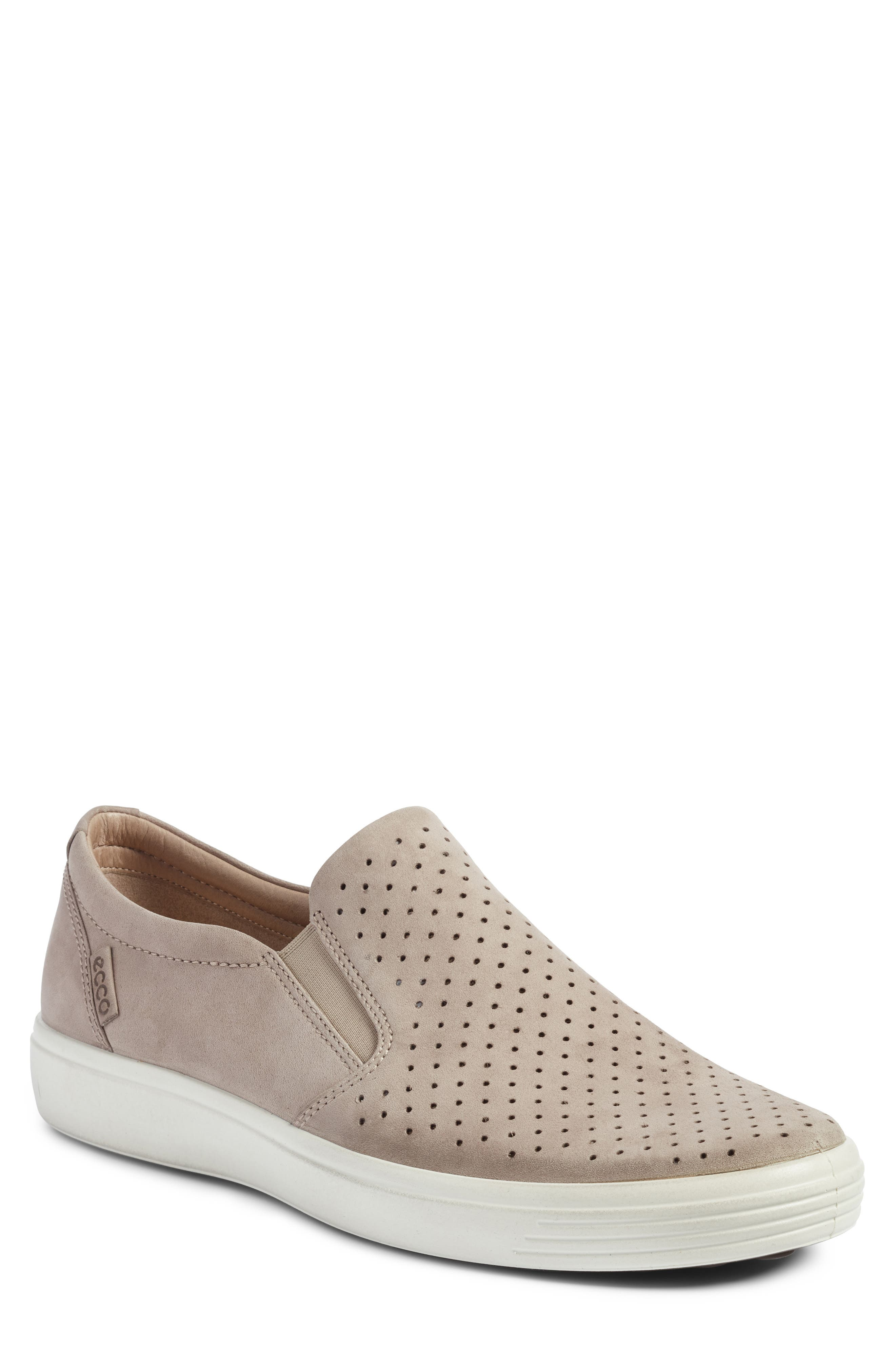 Soft 7 Retro Slip-On Sneaker,                         Main,                         color, Moonrock Leather