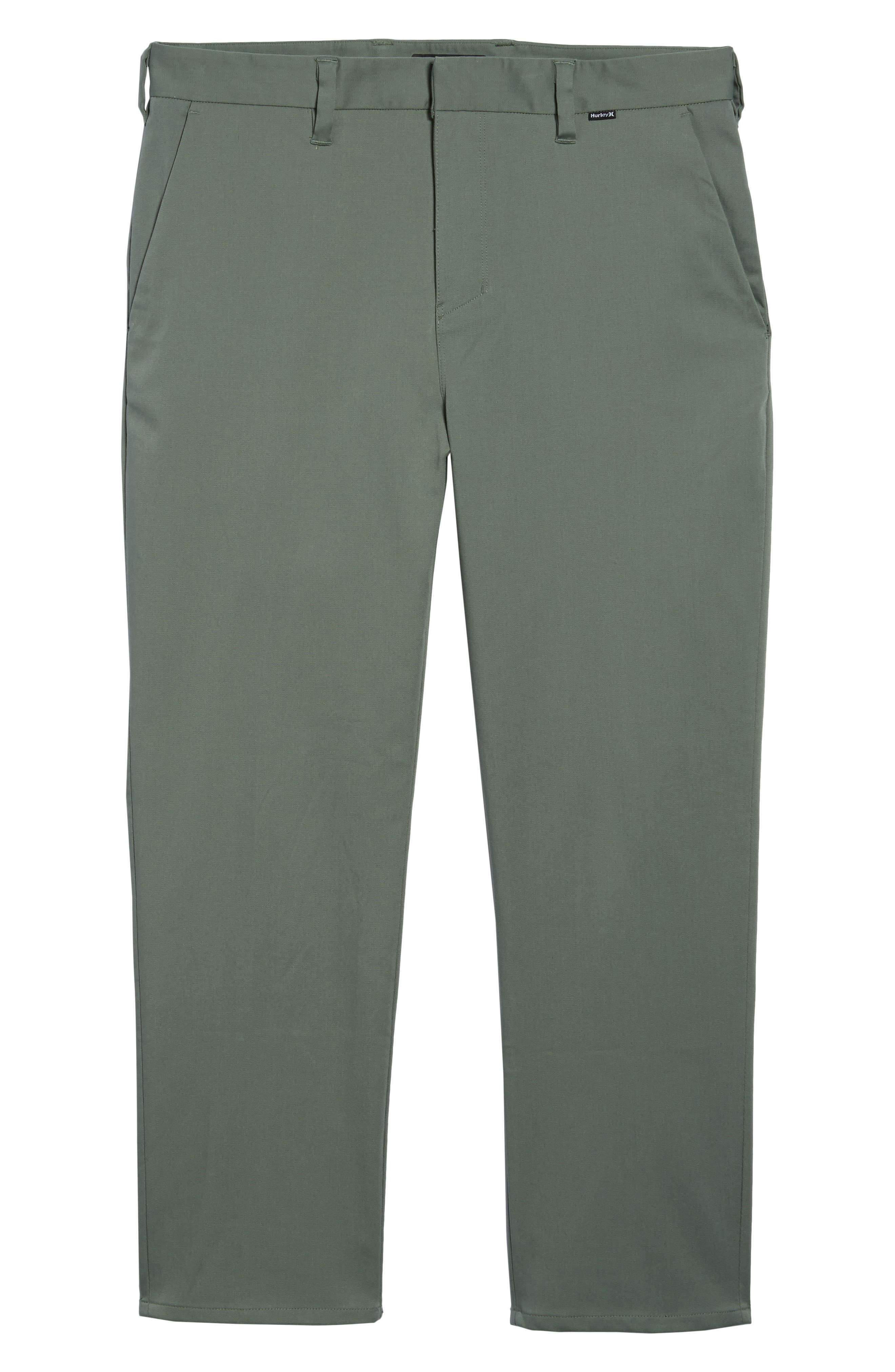 Dry Transistor Straight Leg Pants,                             Alternate thumbnail 6, color,                             Clay Green