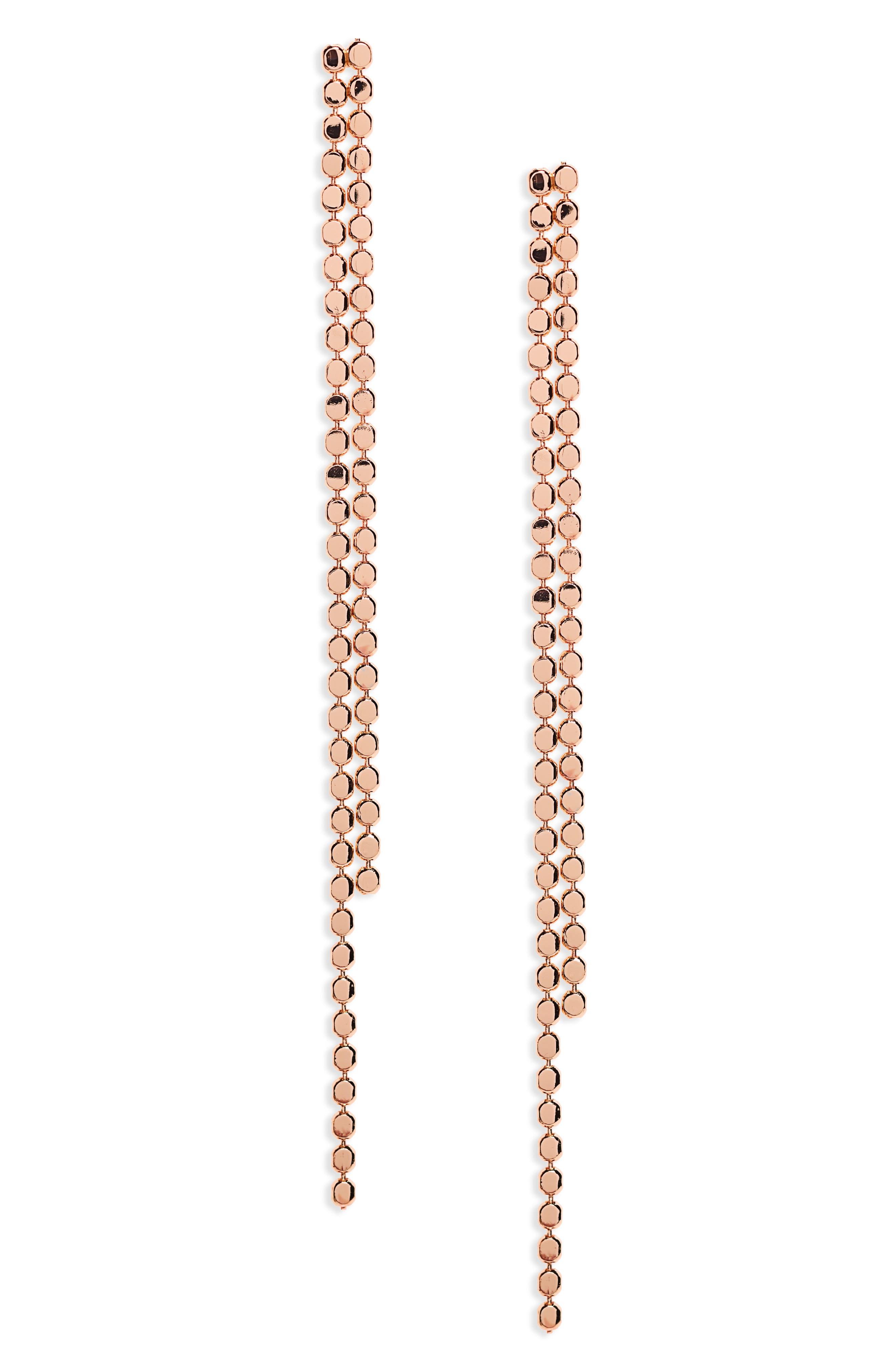 Panacea Linear Drop Earrings