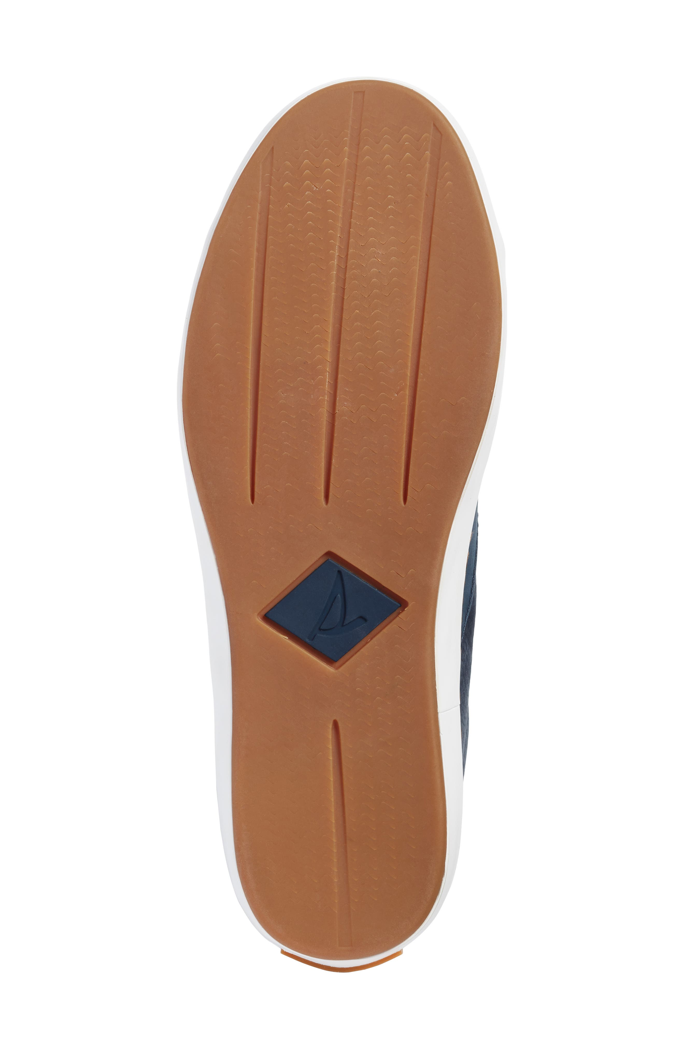 Gold Cup Haven Sneaker,                             Alternate thumbnail 5, color,                             Navy Leather