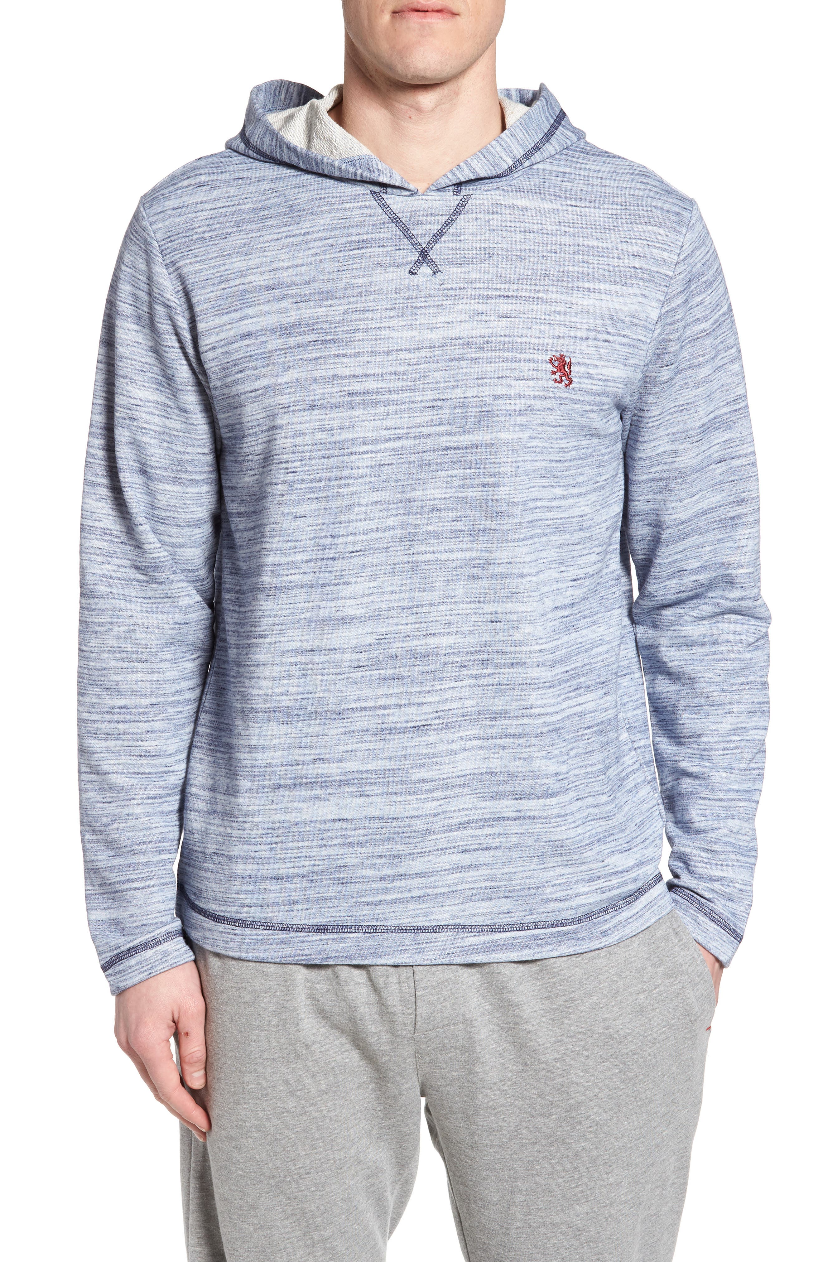 Swept in Waves Hoodie,                             Main thumbnail 1, color,                             Alfresco French Terry