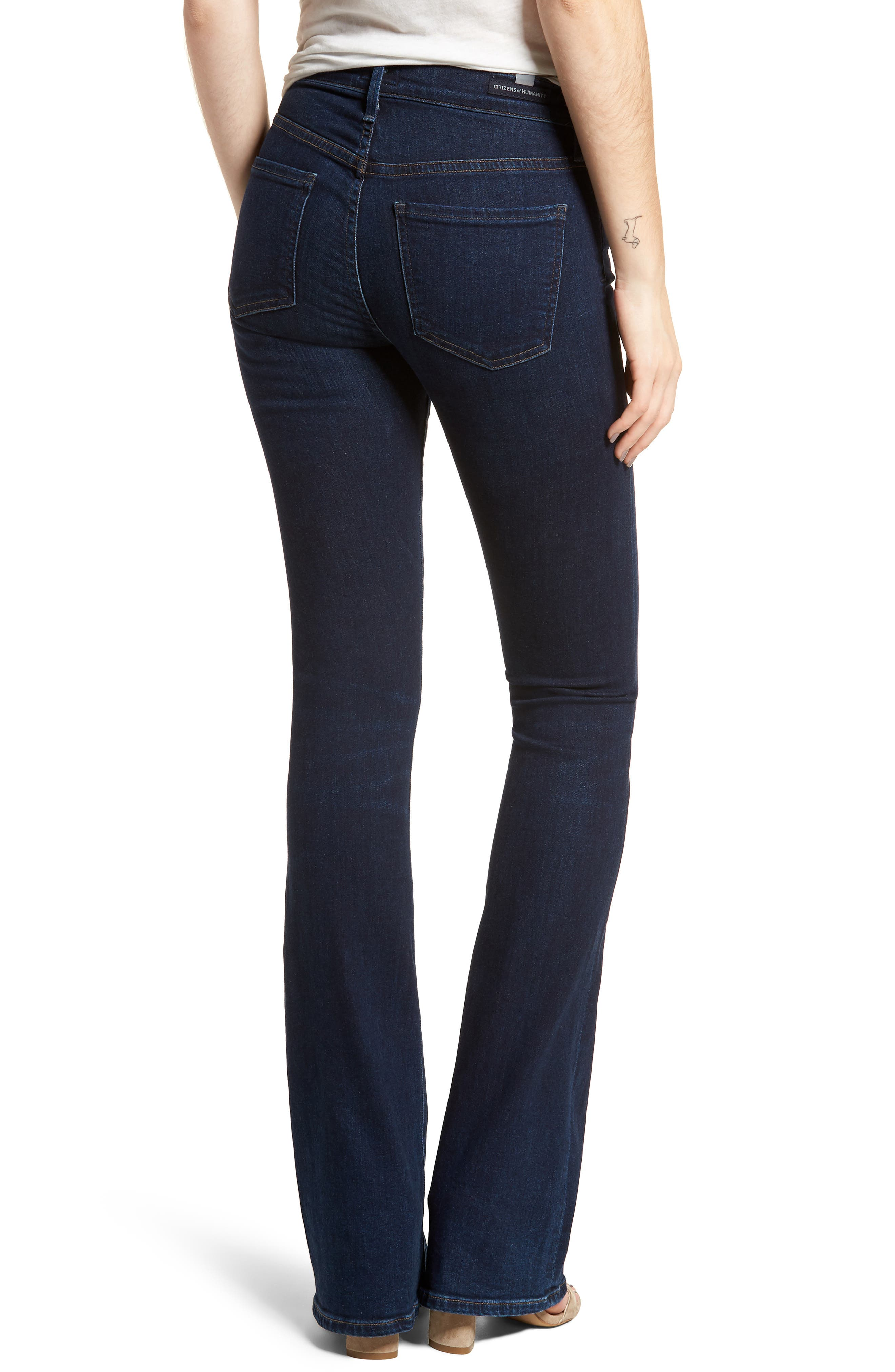 Emannuelle Bootcut Jeans,                             Alternate thumbnail 2, color,                             Galaxy