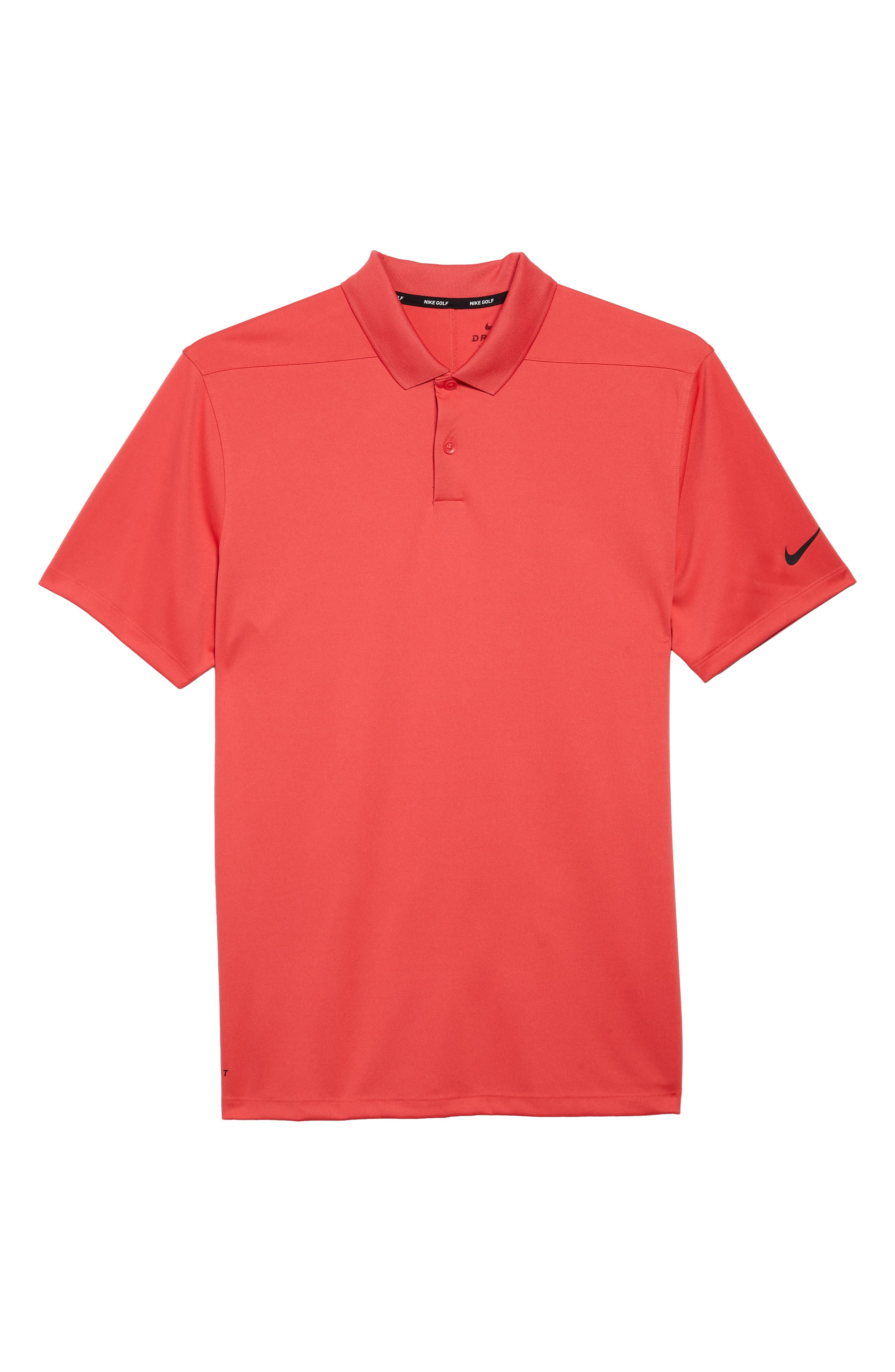 Dry Victory Golf Polo,                             Alternate thumbnail 6, color,                             Tropical Pink/ Black