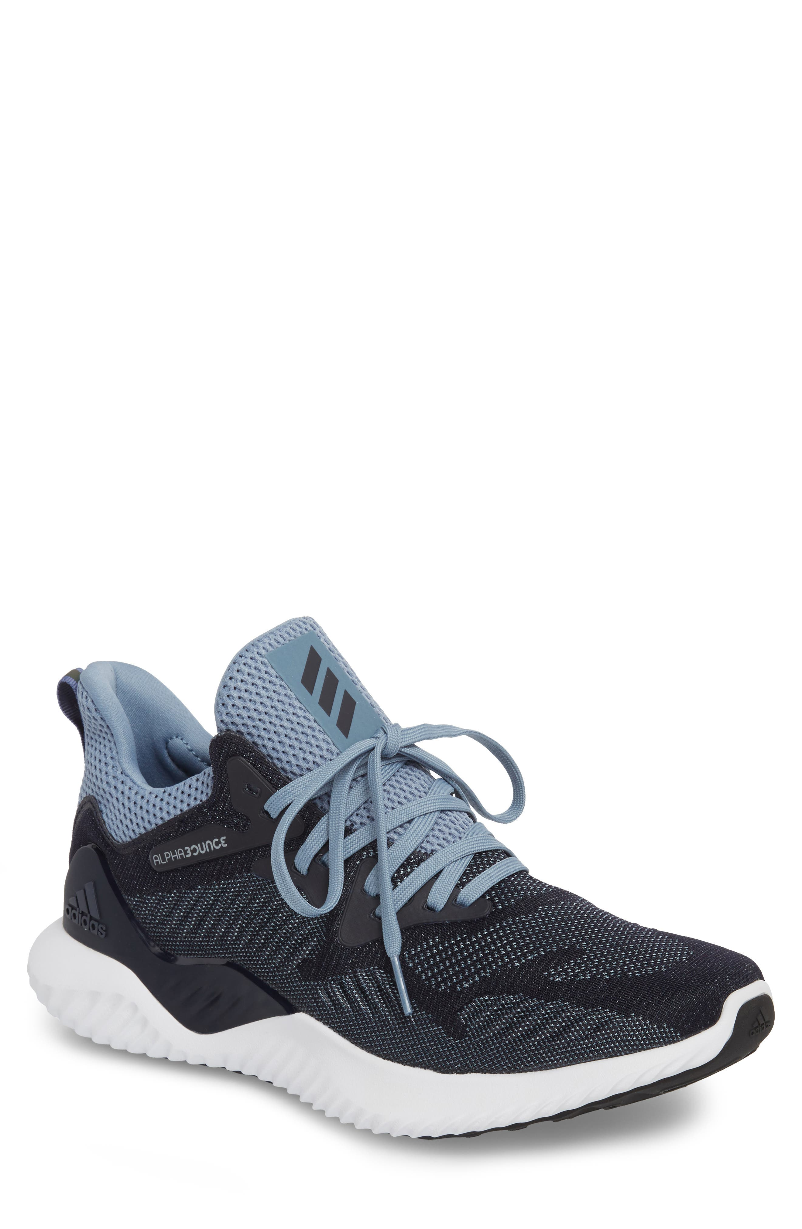 Main Image - adidas AlphaBounce Beyond Knit Running Shoe (Men)