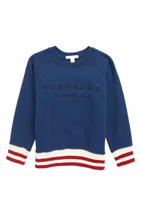 cf31714256825 Burberry Stanley Logo Sweatshirt (Little Boys   Big Boys)