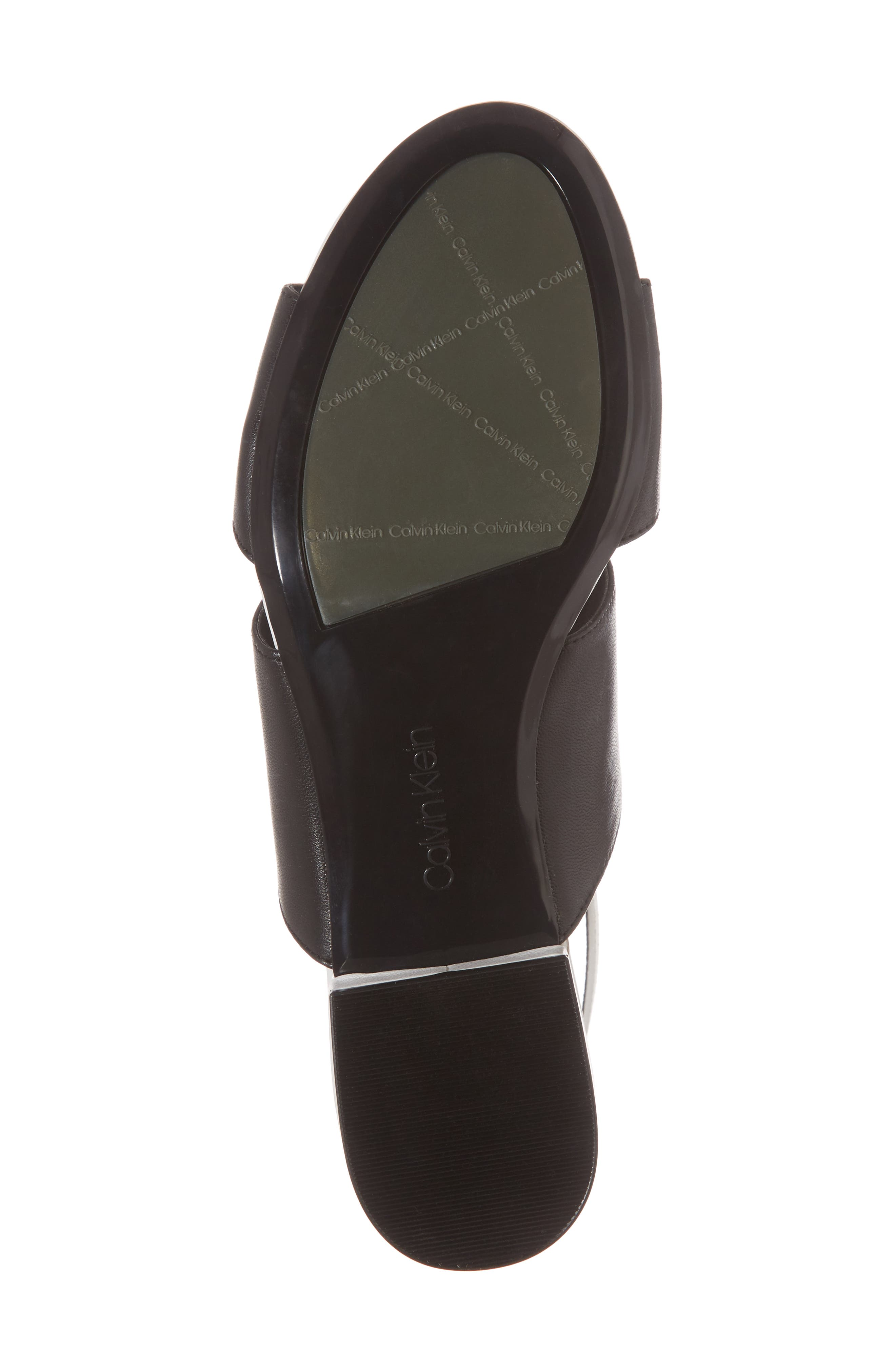 Fernarda Sandal,                             Alternate thumbnail 6, color,                             Black Leather