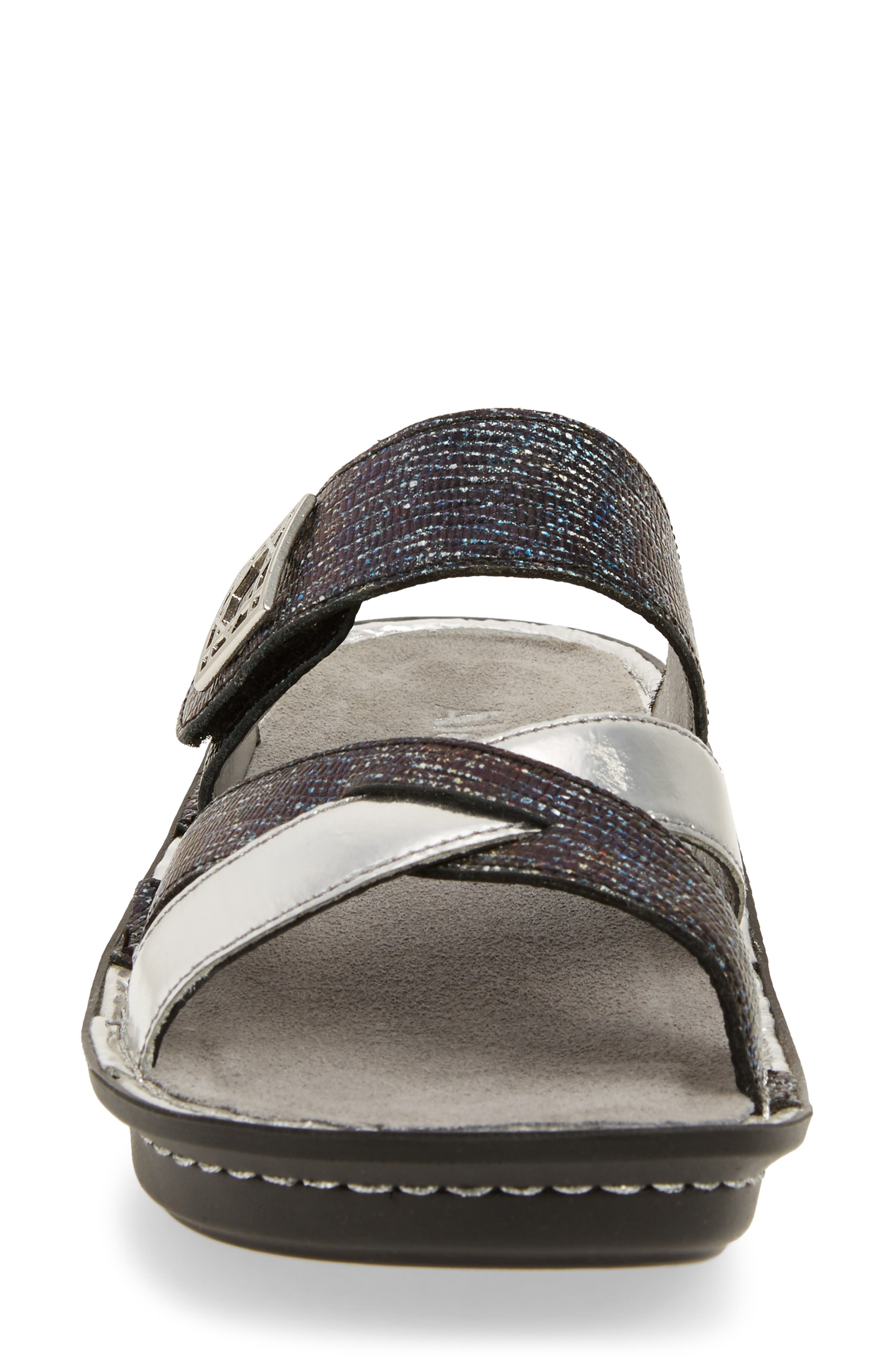 by PG Lite Victoriah Slide Sandal,                             Alternate thumbnail 4, color,                             Glimmer Glam Leather