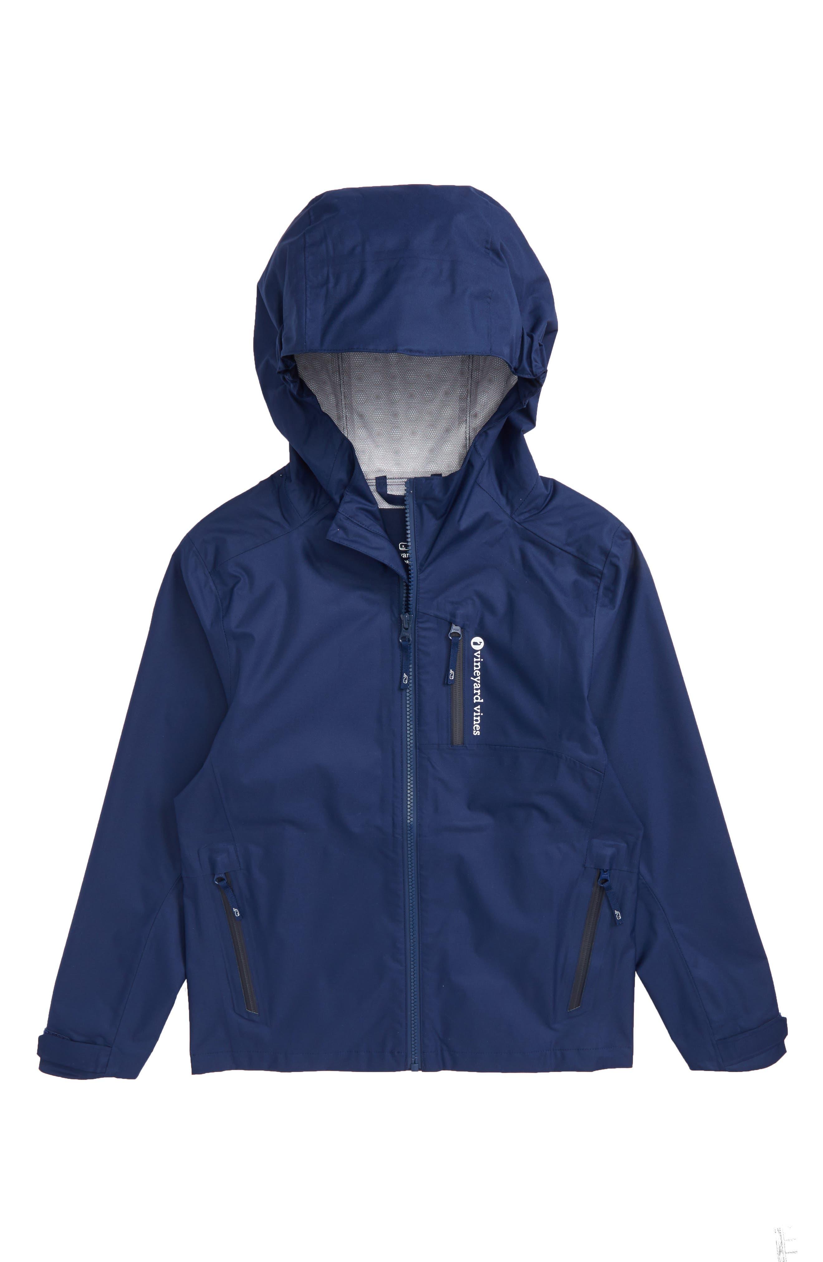 vineyard vines New Hooded Rain Jacket (Toddler Boys, Little Boys & Big Boys)