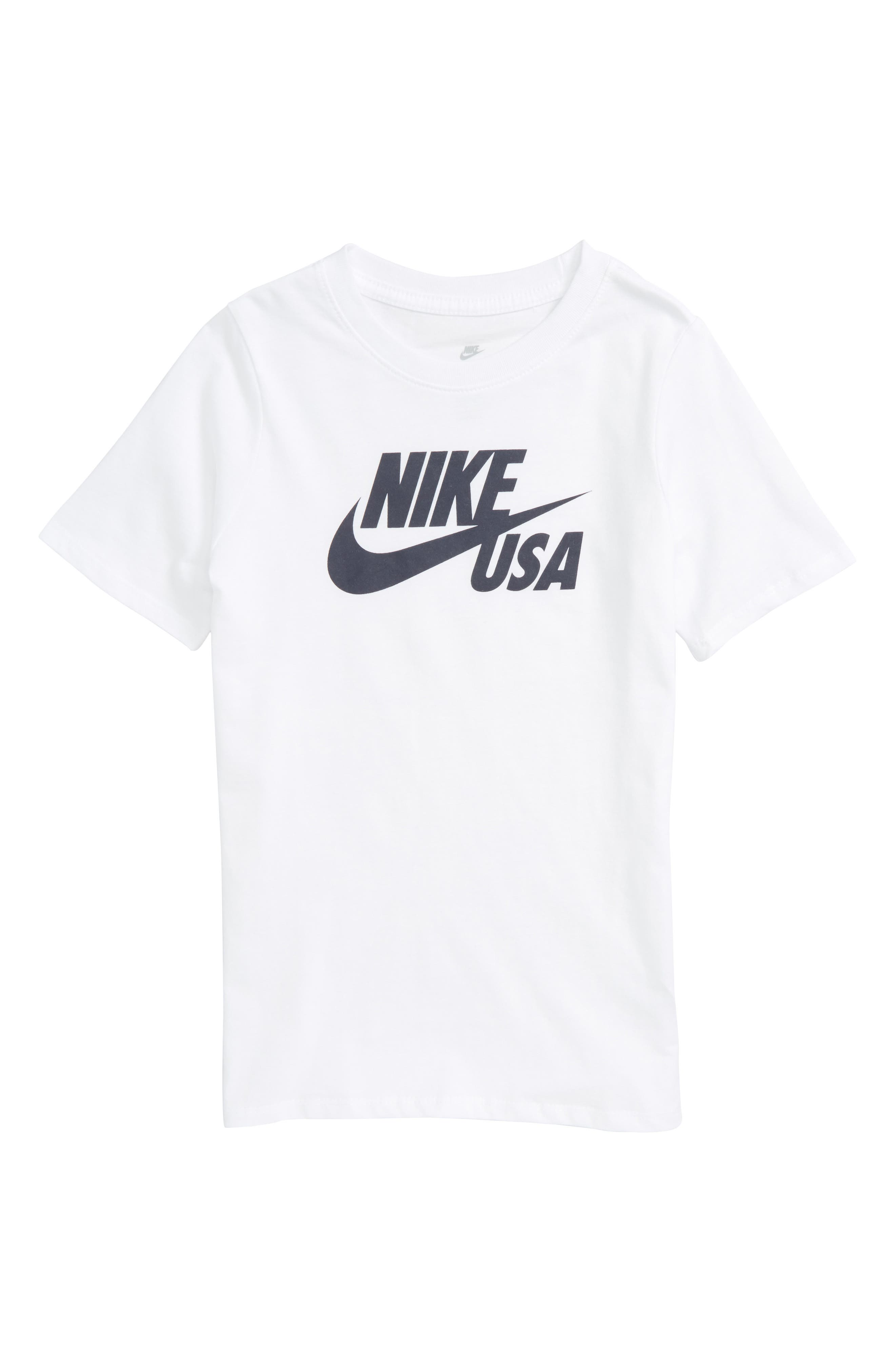 Alternate Image 1 Selected - Nike Sportswear USA Country Graphic T-Shirt (Little Boys & Big Boys)