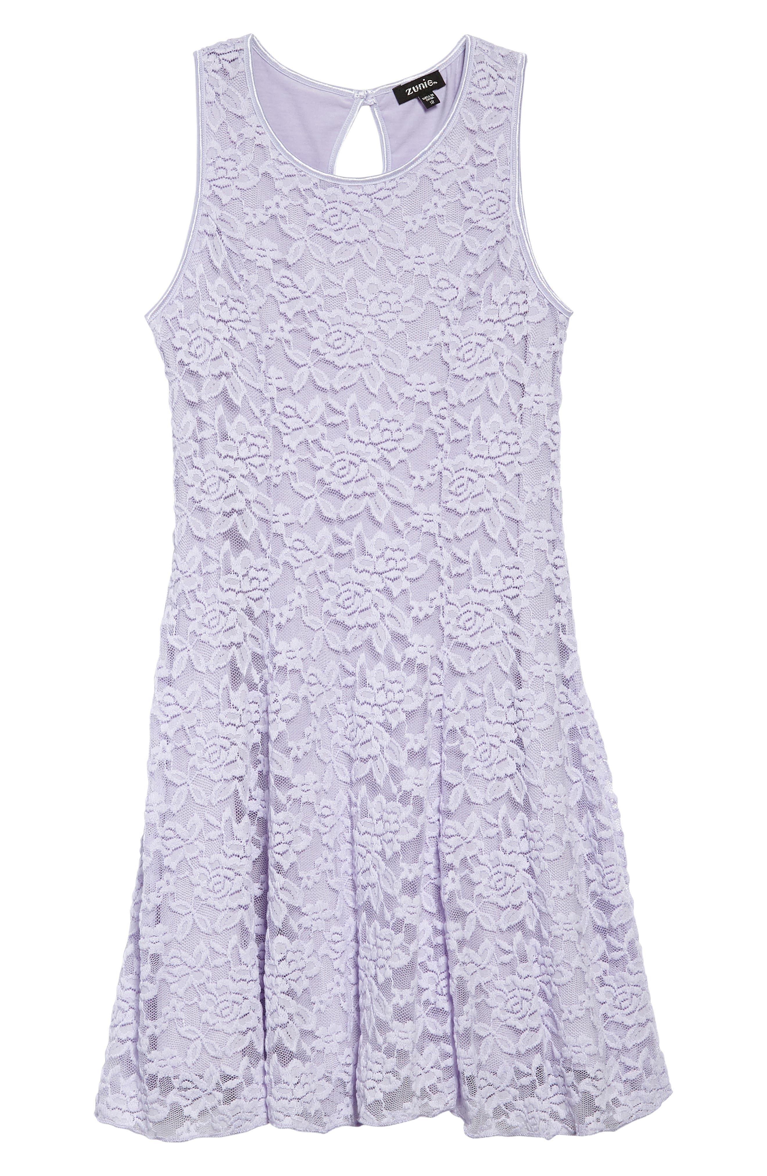 Pale violet dress color