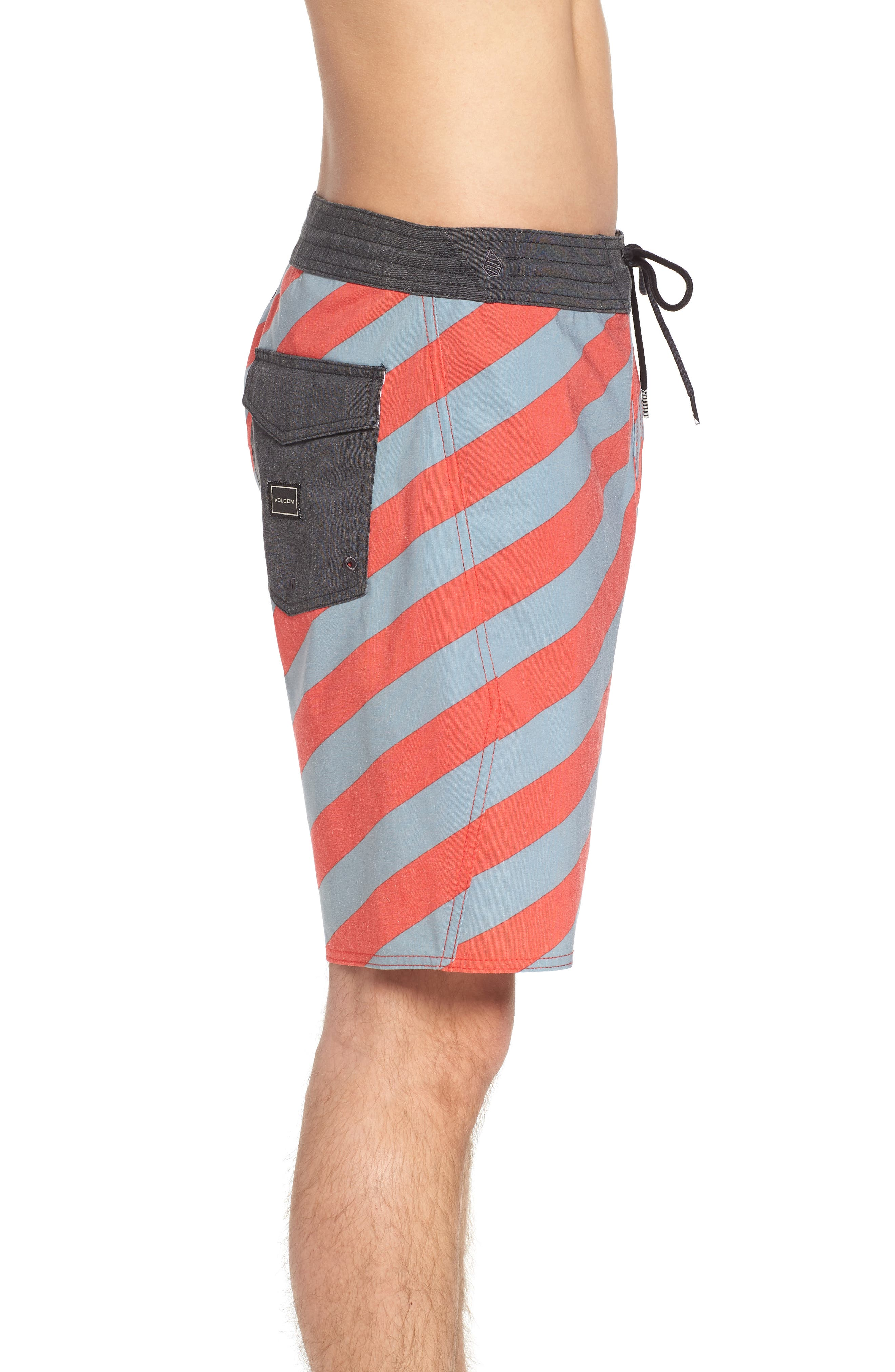 Stripey Stoney Boardshorts,                             Alternate thumbnail 3, color,                             Lead