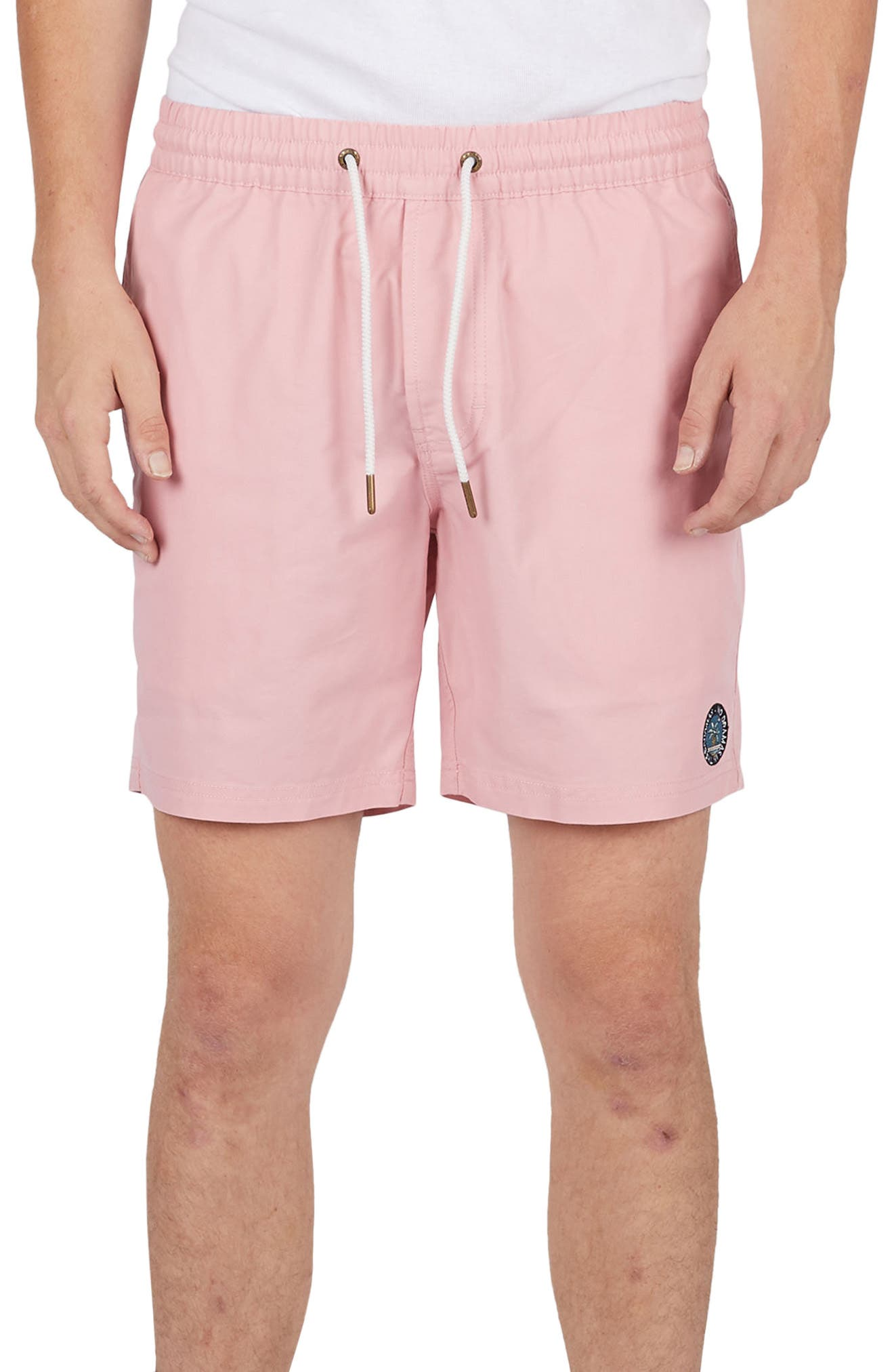 Amphibious Shorts,                         Main,                         color, Pink