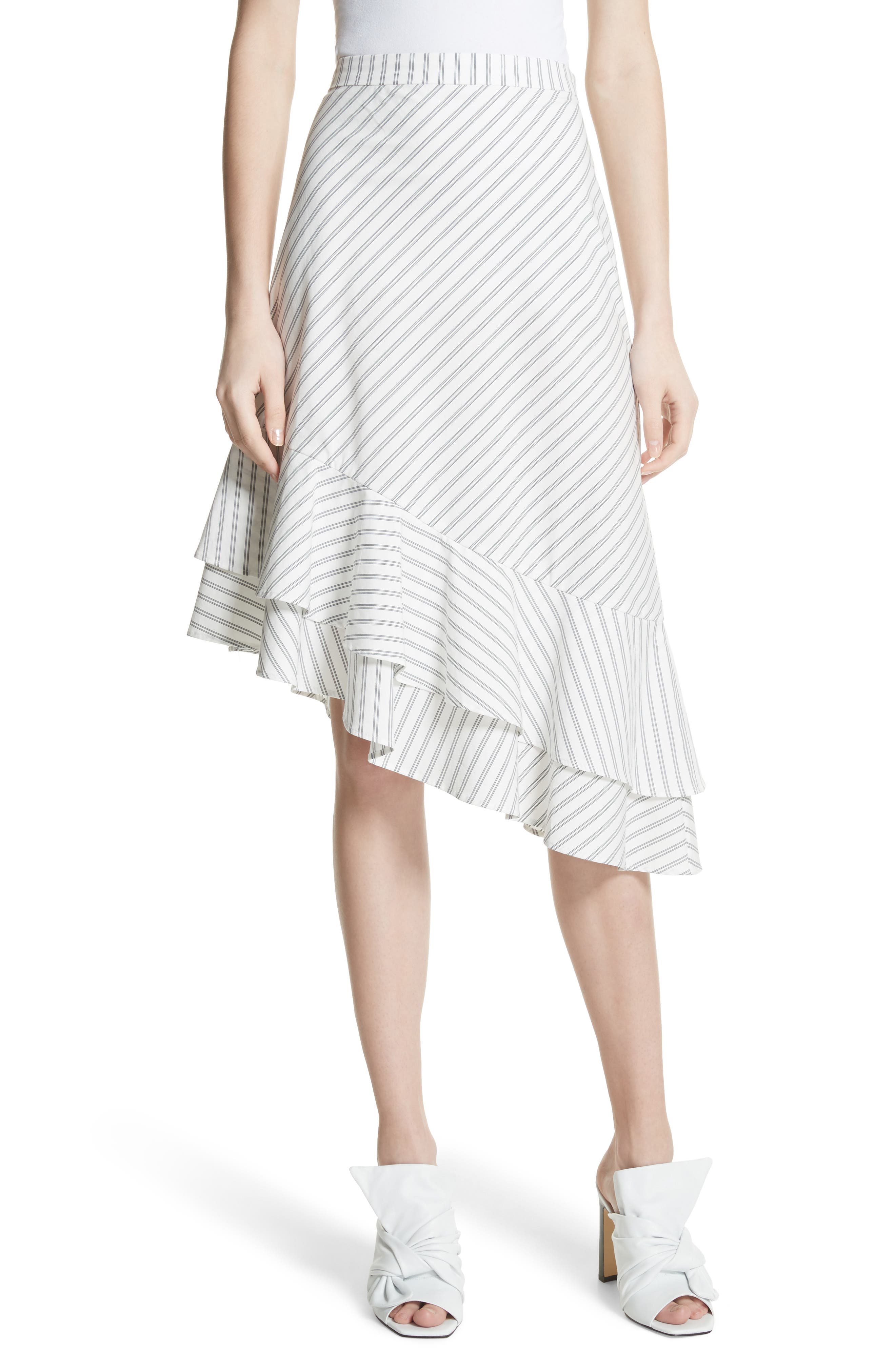 Yenene Skirt,                             Main thumbnail 1, color,                             Porcelain
