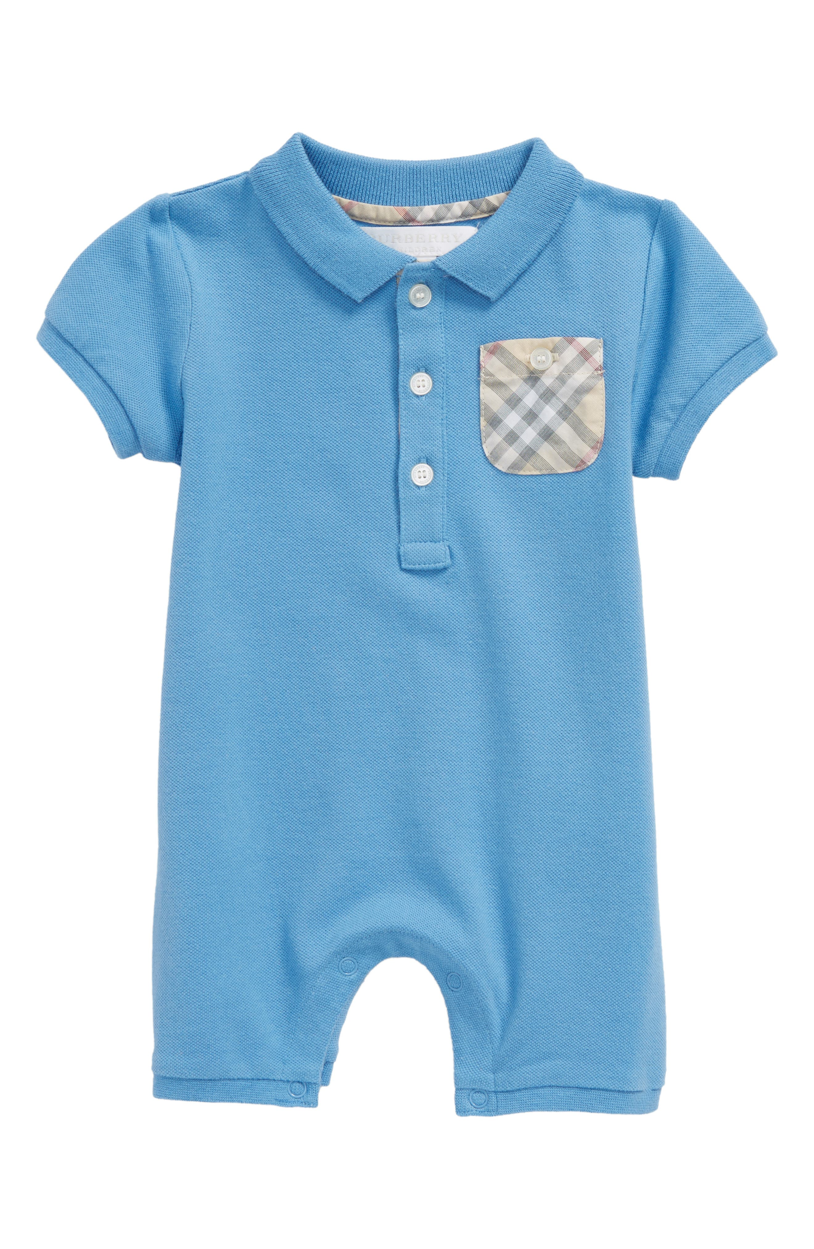 burberry baby boy shirt