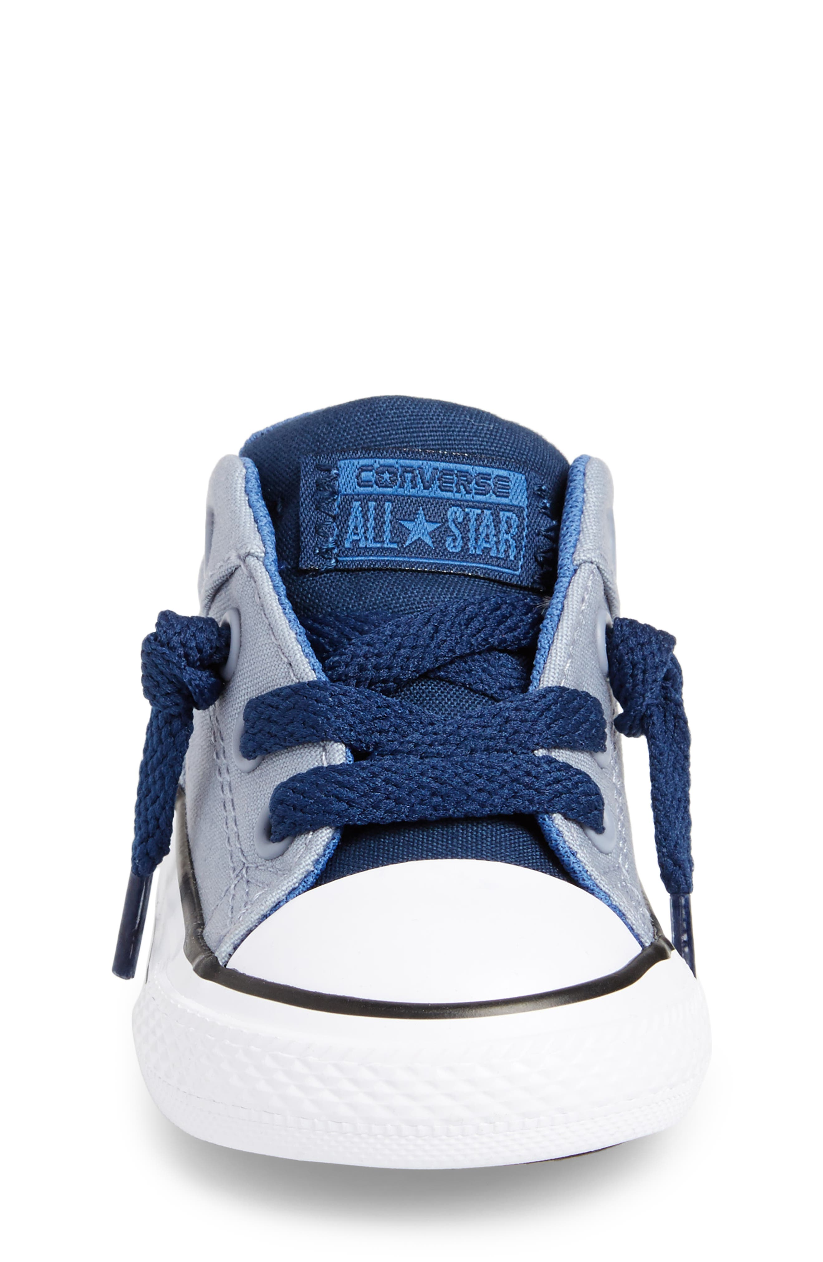 Chuck Taylor<sup>®</sup> All Star<sup>®</sup> High Street Slip-On Sneaker,                             Alternate thumbnail 4, color,                             Glacier Grey