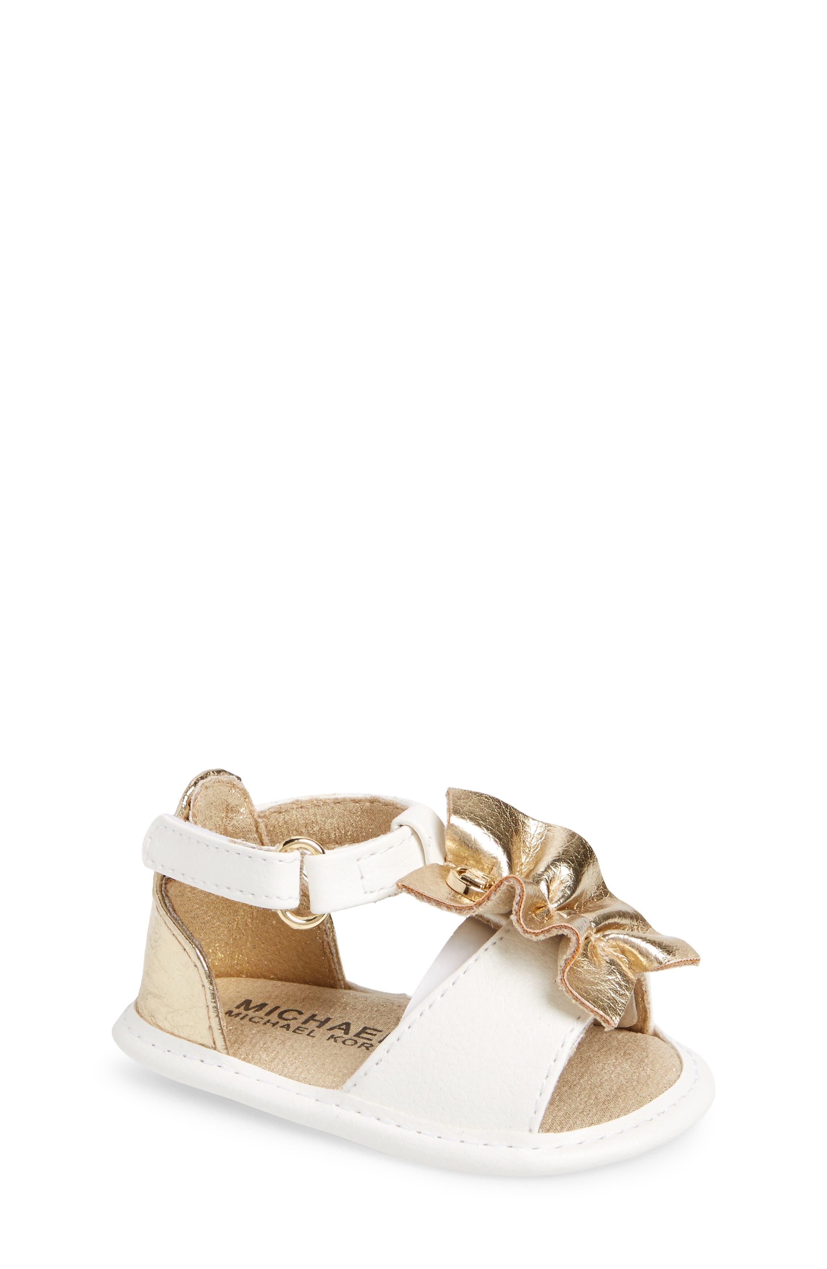 MICHAEL Michael Kors Clue Sandal (Baby)
