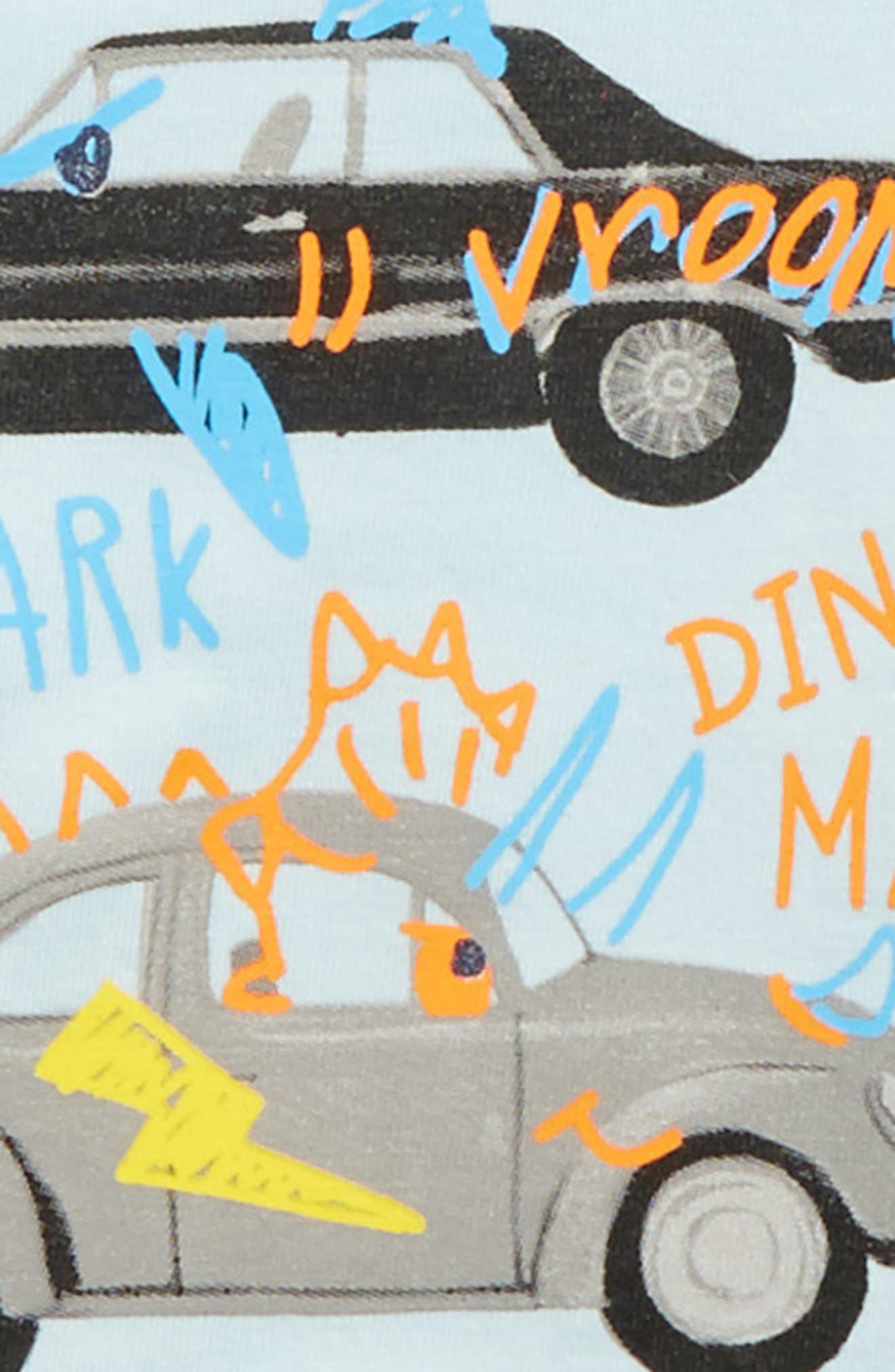 Monster Car T-Shirt,                             Alternate thumbnail 2, color,                             Monster Car Doodles