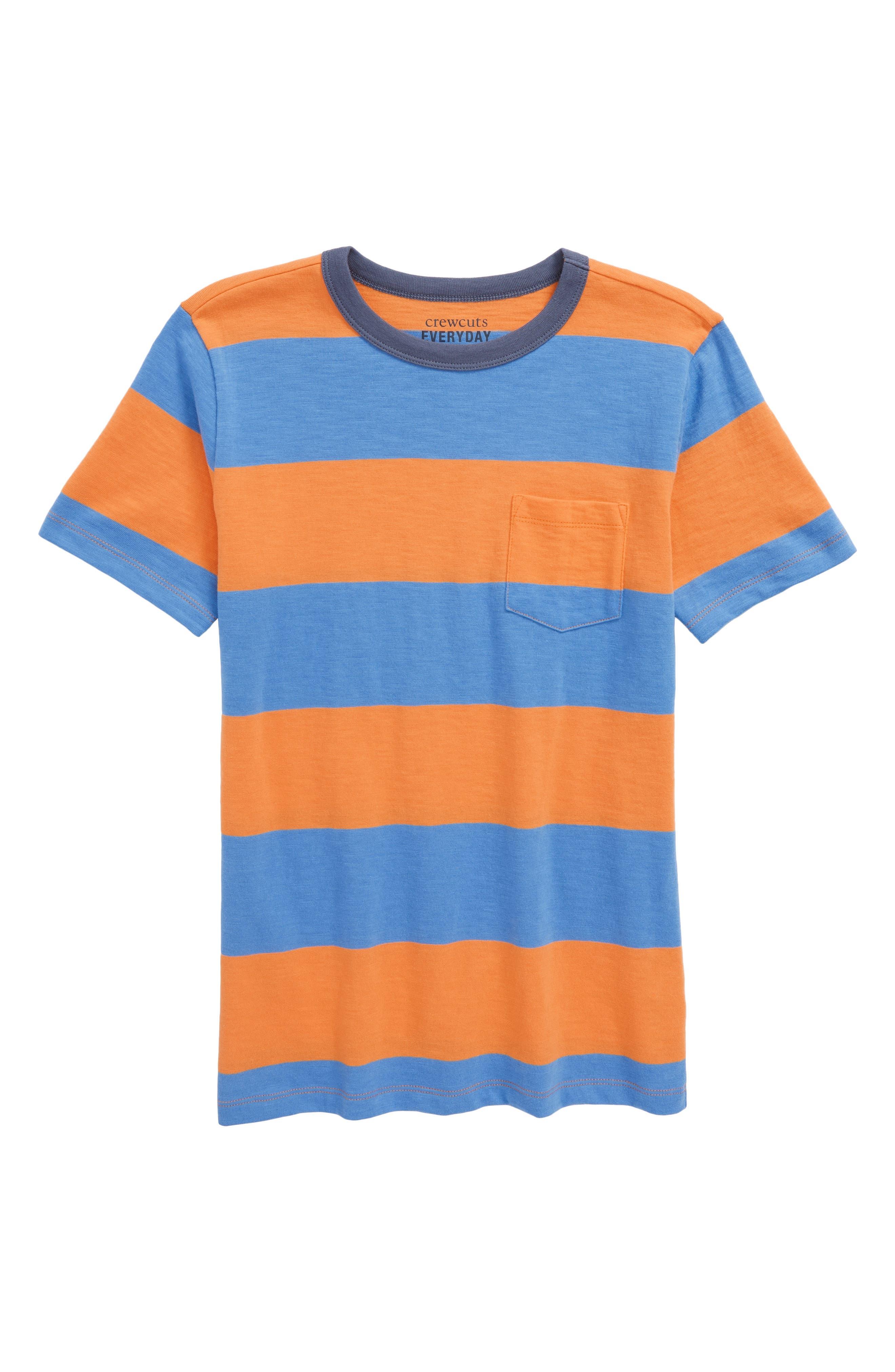 crewcuts by J.Crew Double Rugby Stripe Shirt (Toddler Boys, Little Boys & Big Boys)
