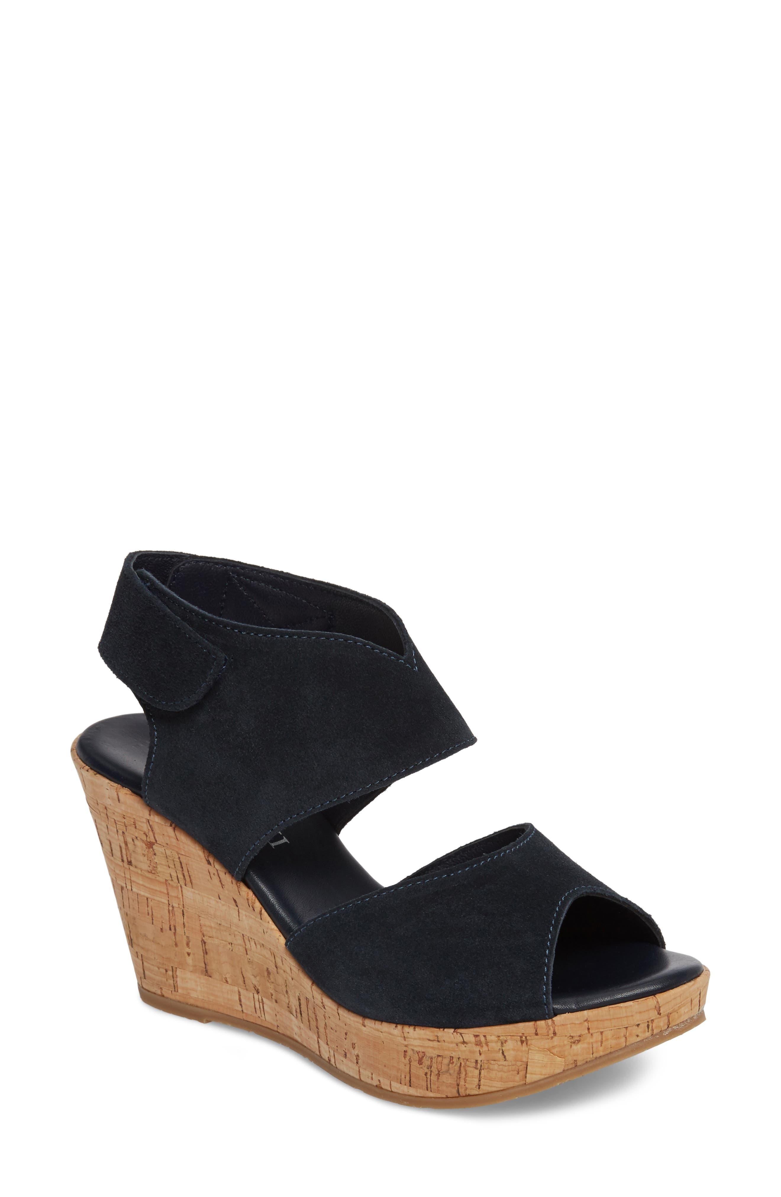 Cordani 'Rhonda' Platform Wedge Sandal (Women)