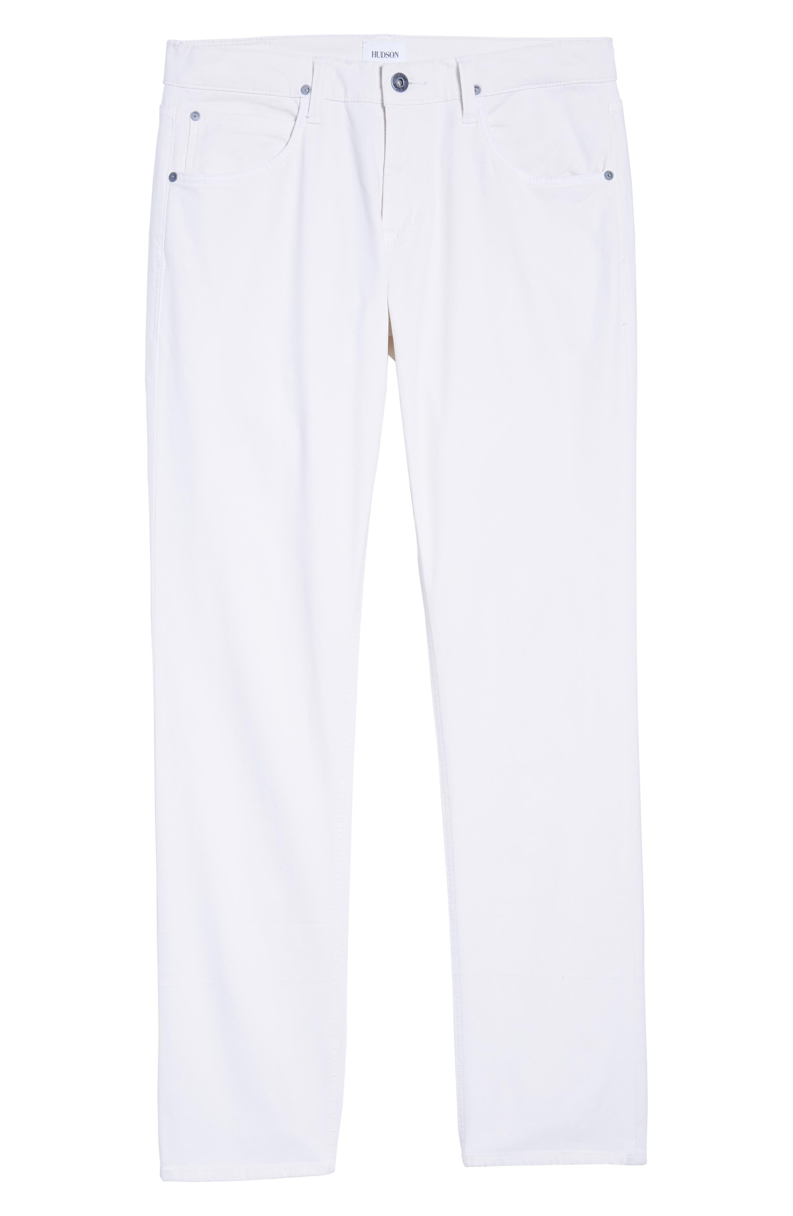 Blake Slim Fit Jeans,                             Alternate thumbnail 7, color,                             Off White