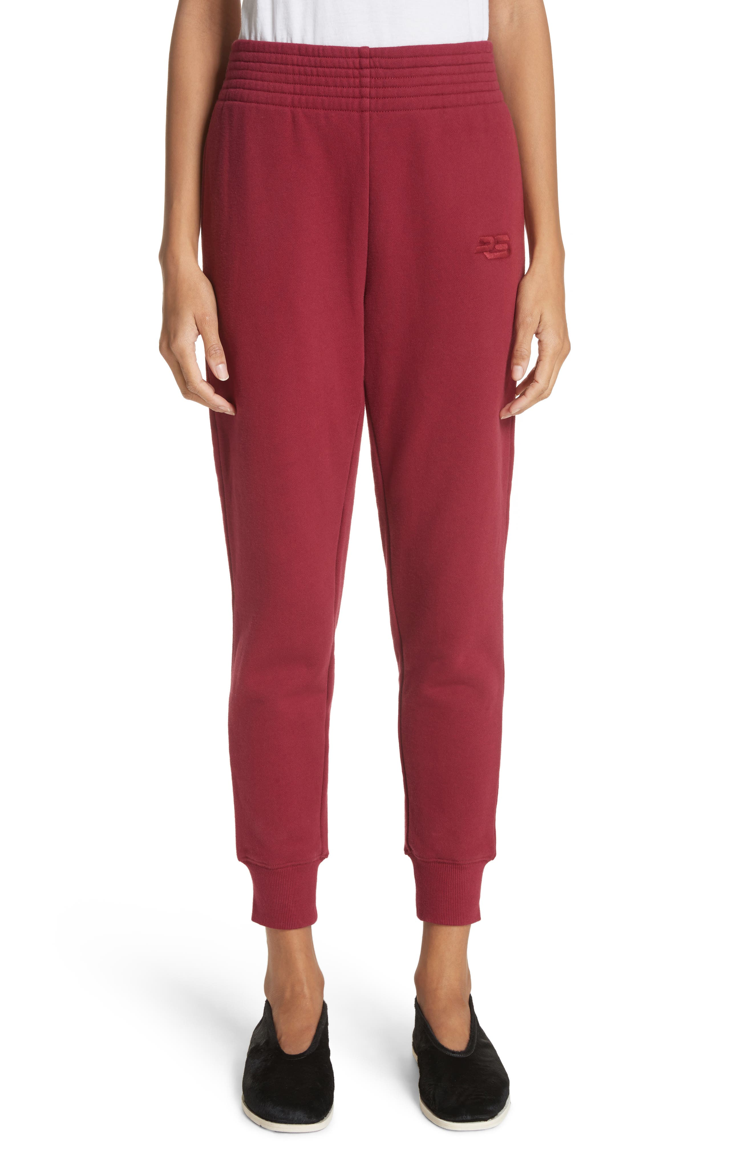 PSWL Sweatpants,                         Main,                         color, Burgundy