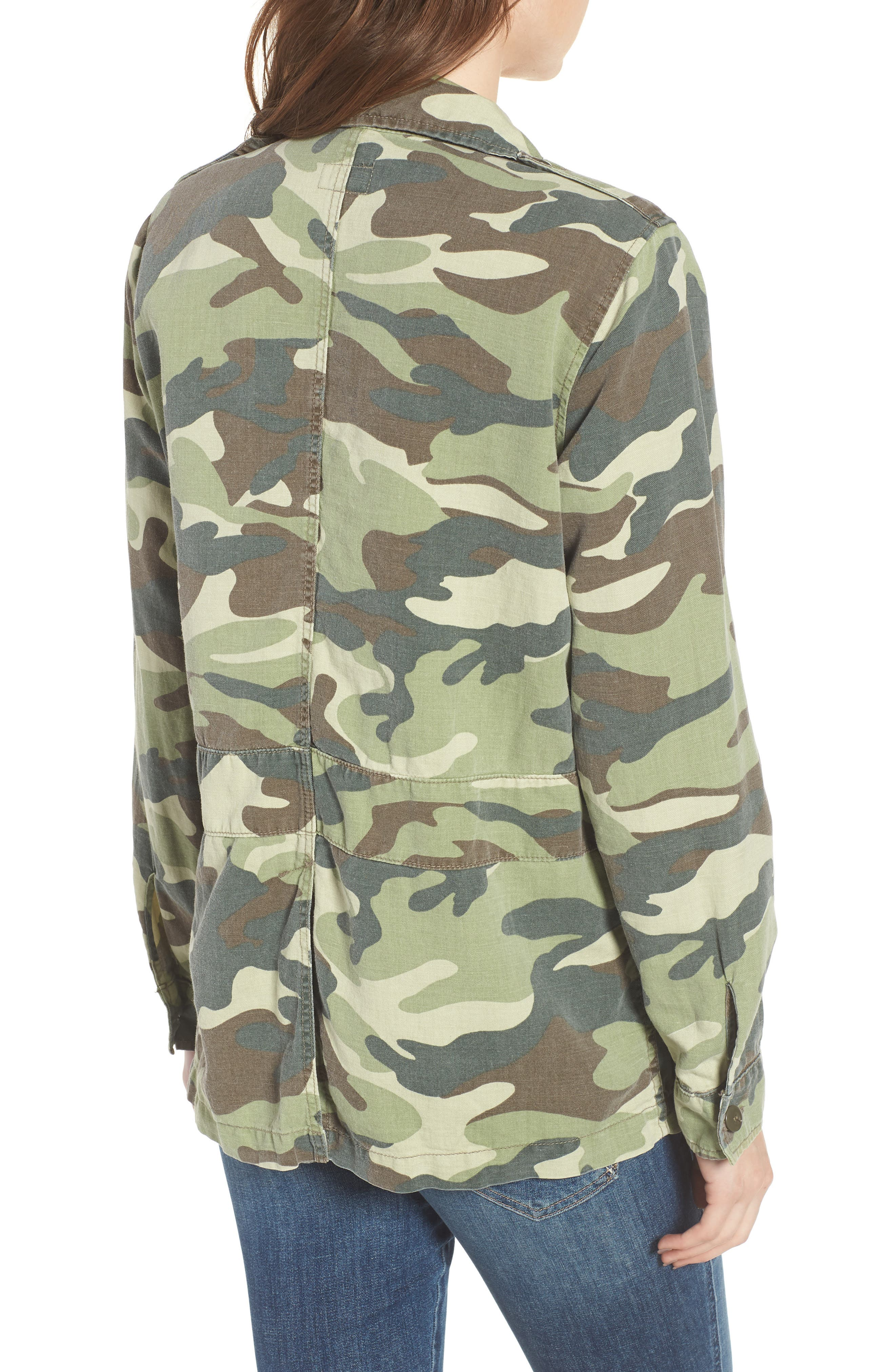 The Loose Veteran Camo Jacket,                             Alternate thumbnail 2, color,                             Camouflage