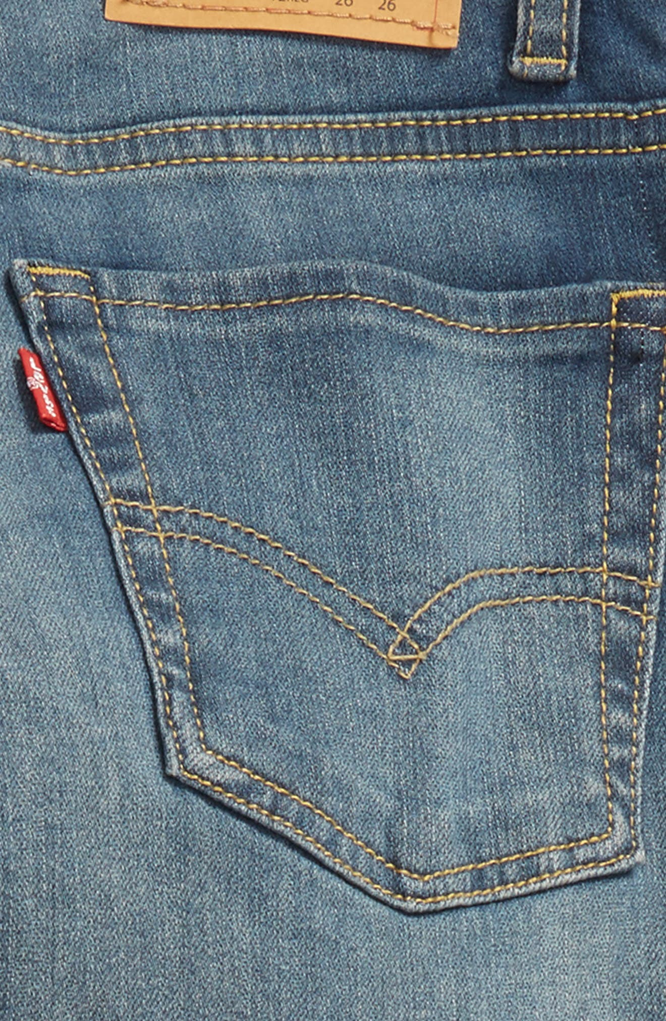 510<sup>™</sup> Skinny Fit Jeans,                             Alternate thumbnail 3, color,                             A Blue