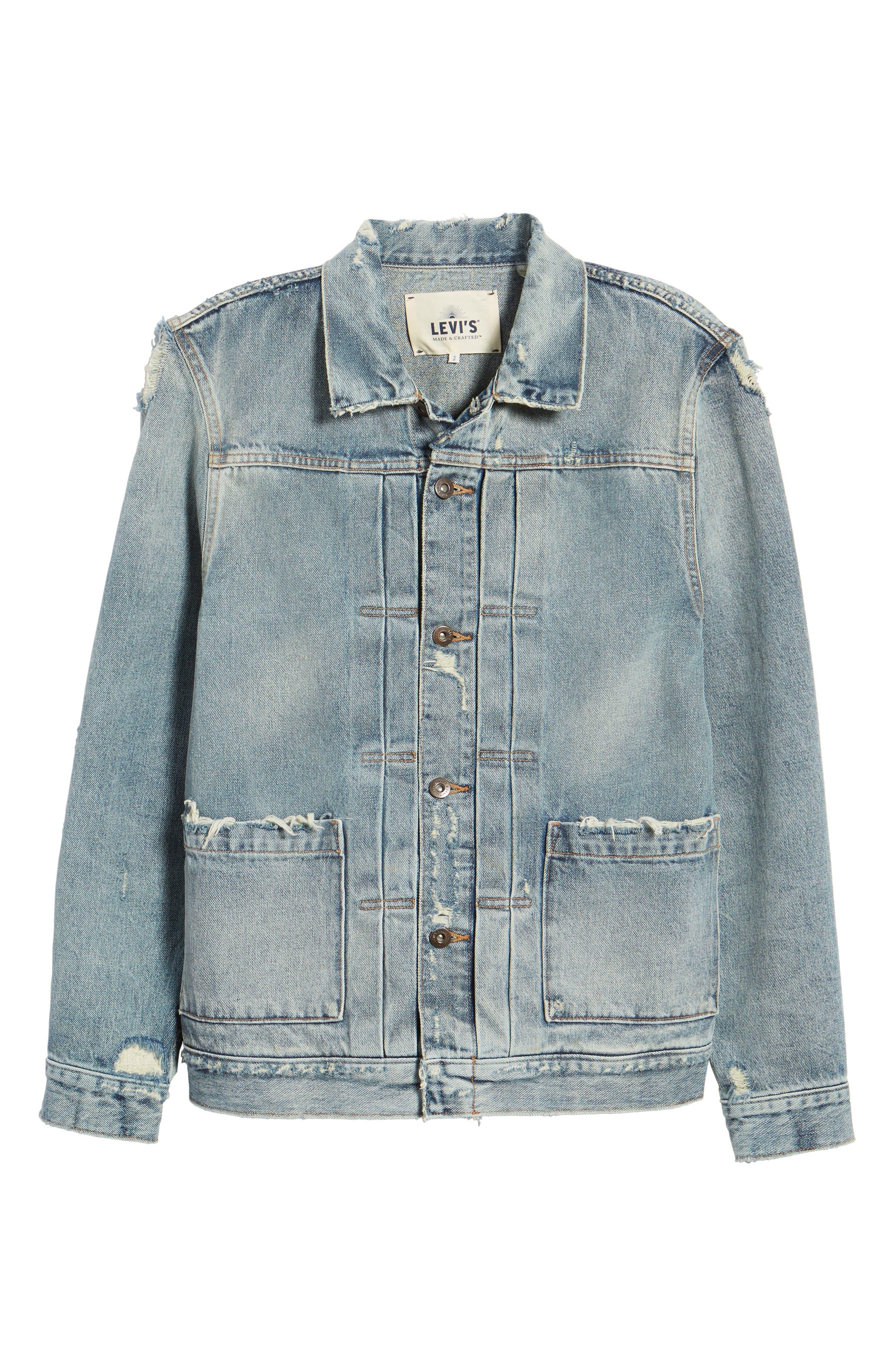 Type II Standard Fit Jacket,                             Alternate thumbnail 5, color,                             Trashed