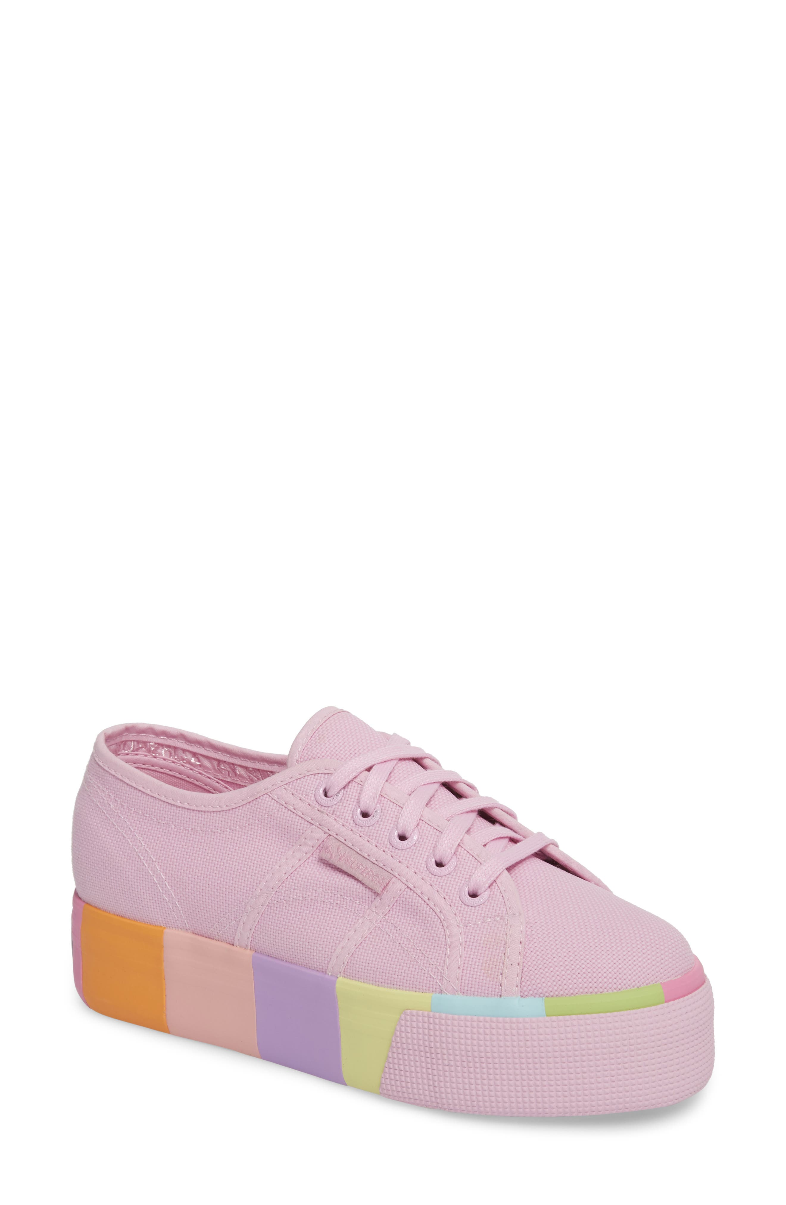 2790 Platform Sneaker,                         Main,                         color, Pink