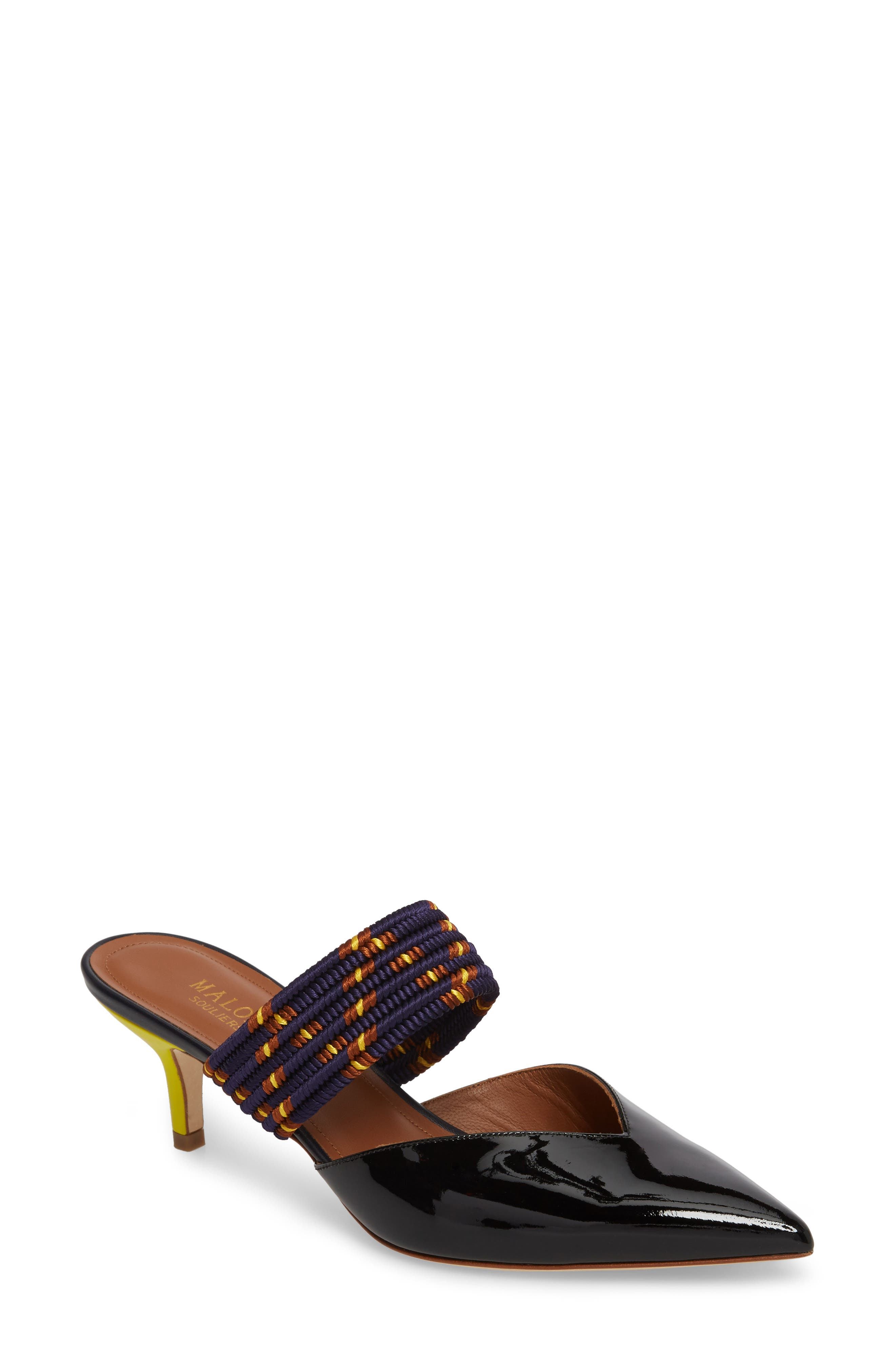 Maisie Banded Mule,                         Main,                         color, Black