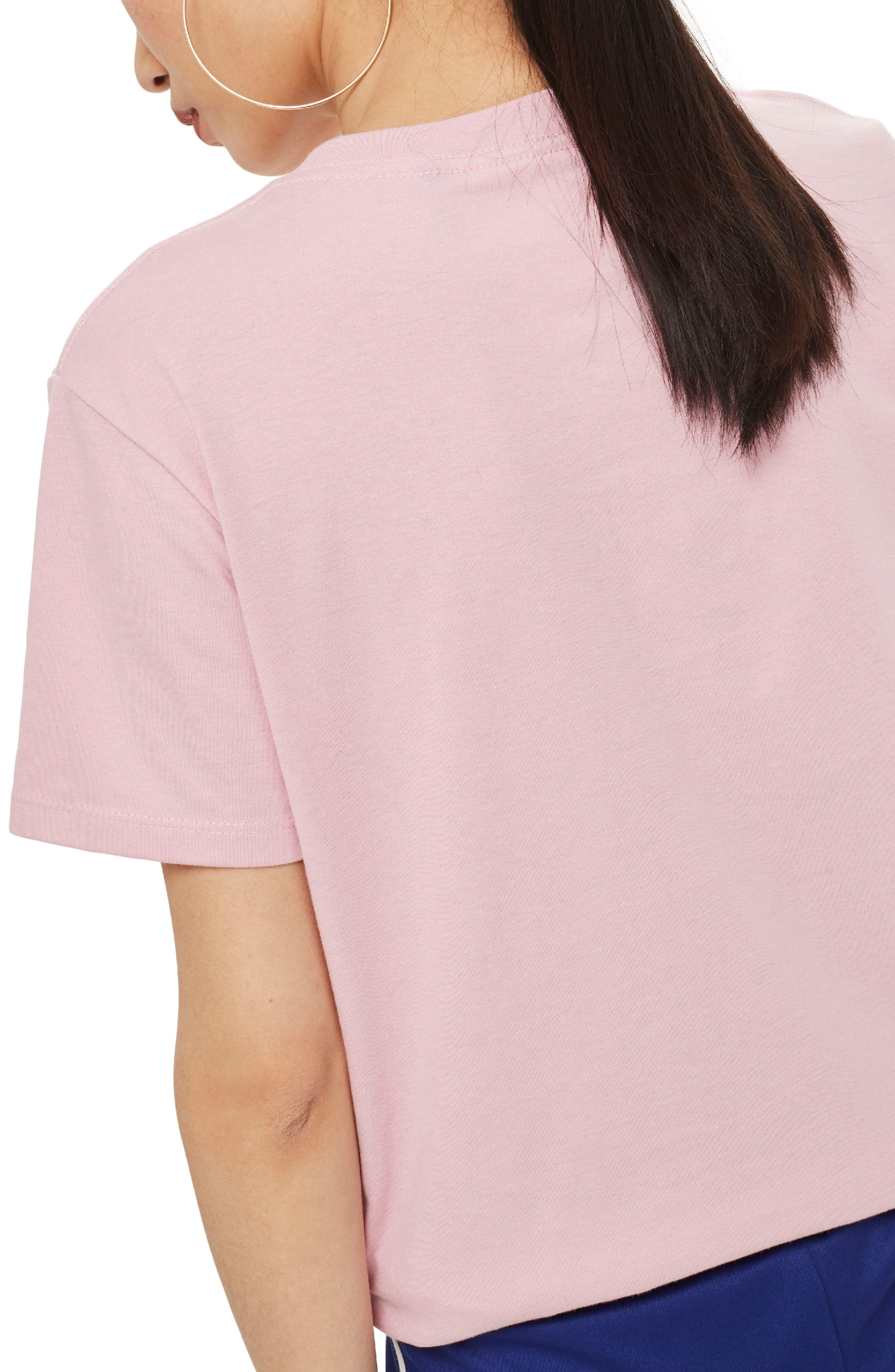 by Tee & Cake Vegan Dino T-Shirt,                             Alternate thumbnail 3, color,                             Pink