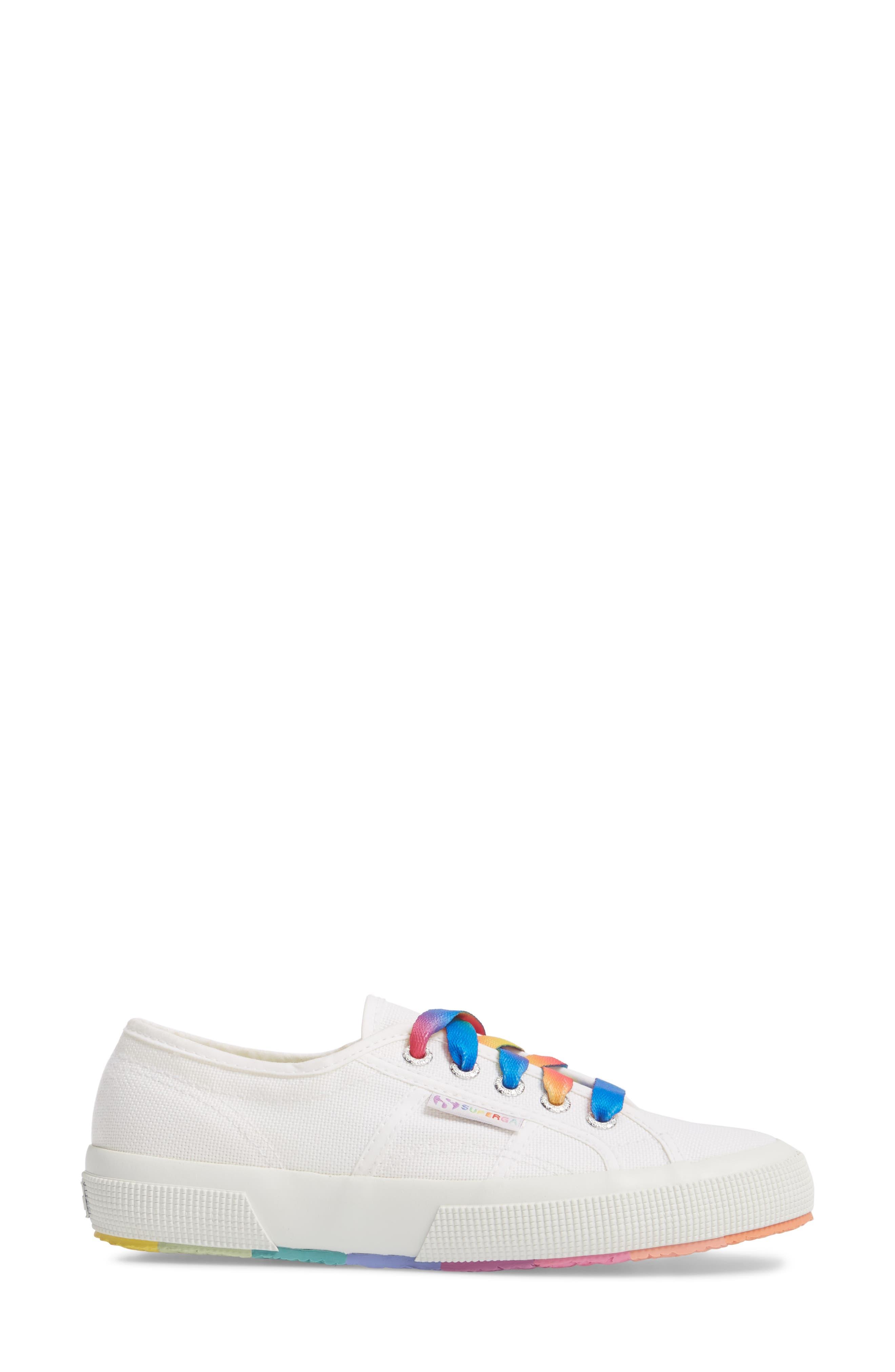 2750 Multicolor Sneaker,                             Alternate thumbnail 3, color,                             White Multi