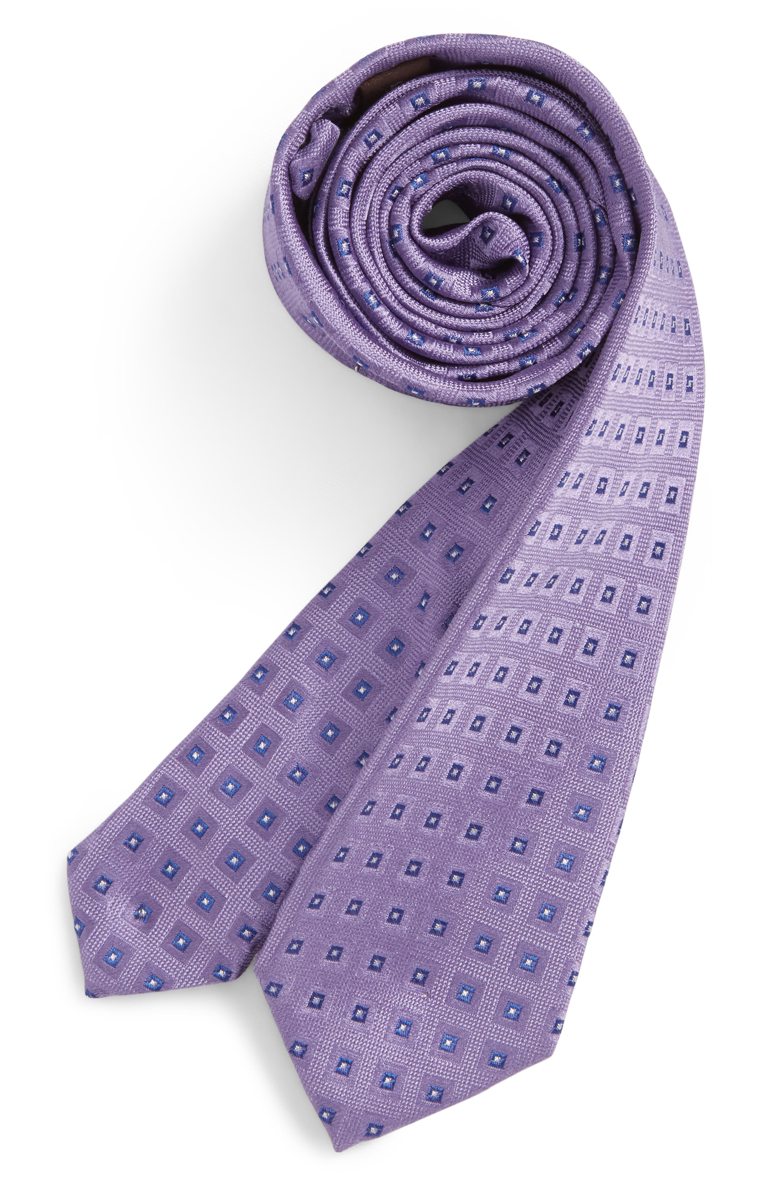 Michael Kors Geometric Silk Tie (Big Boys)