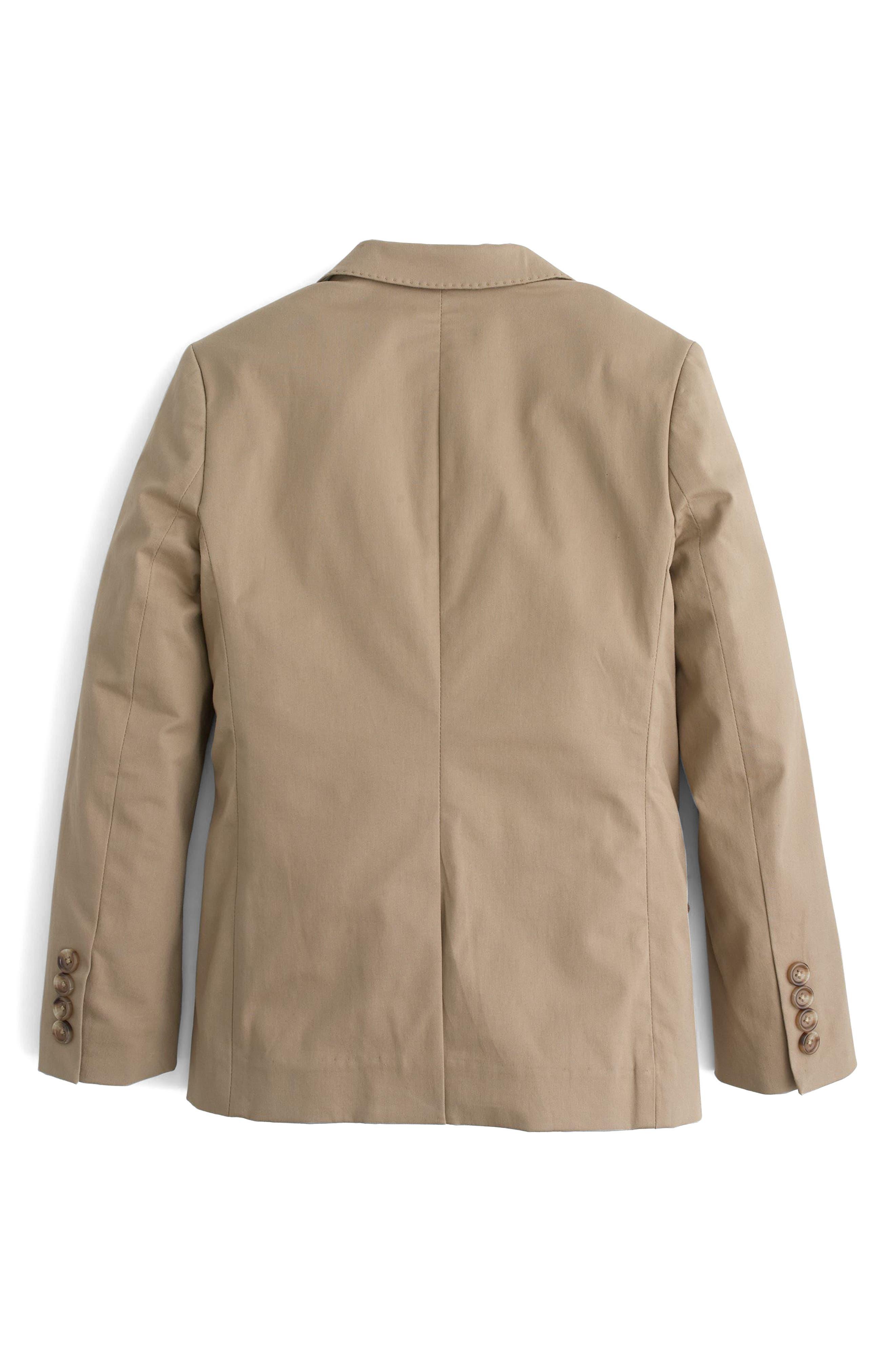 Ludlow Suit Jacket,                             Alternate thumbnail 2, color,                             Khaki Wx0166
