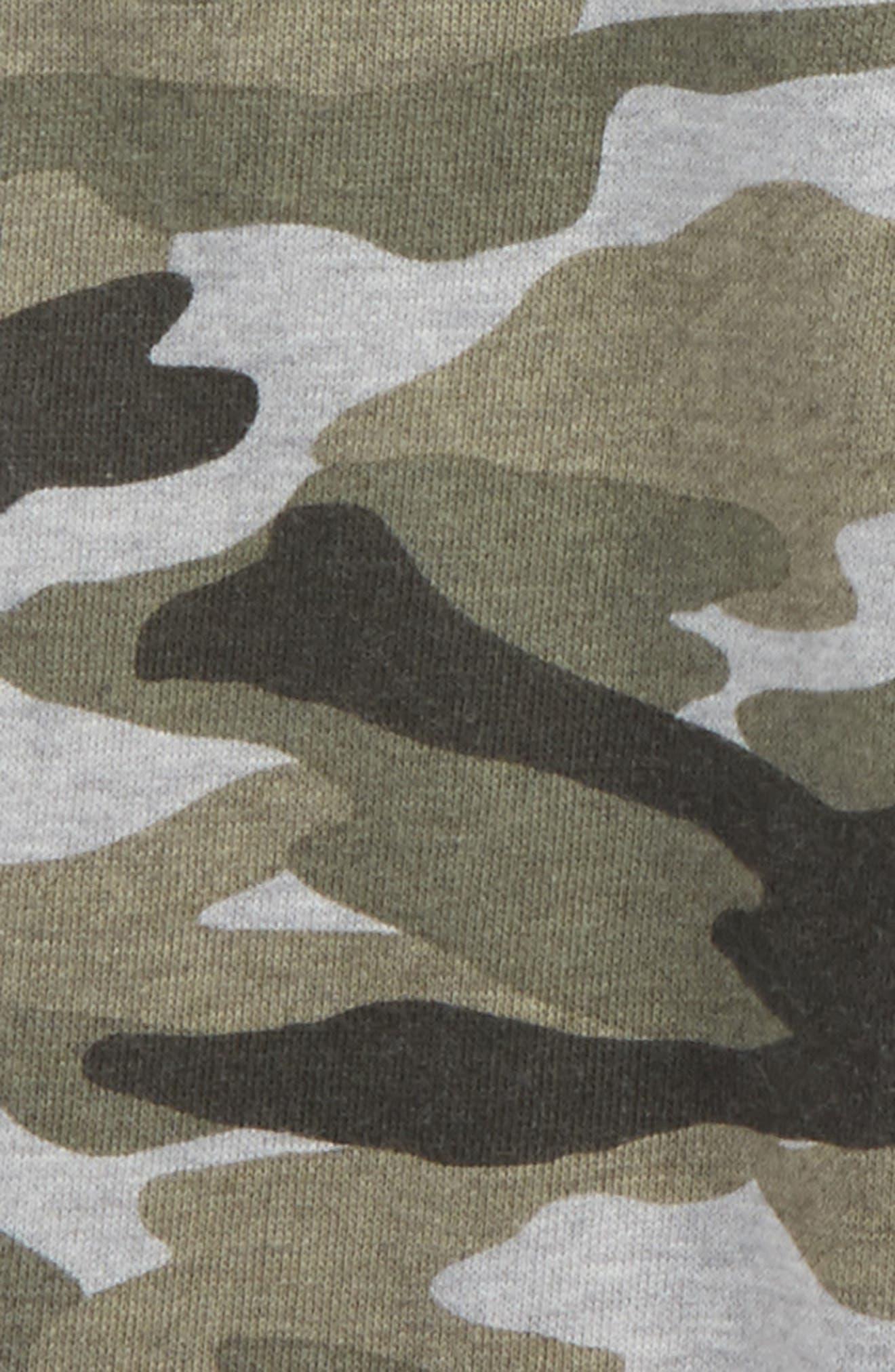Camo Sweatpants,                             Alternate thumbnail 3, color,                             Dark Heather Grey