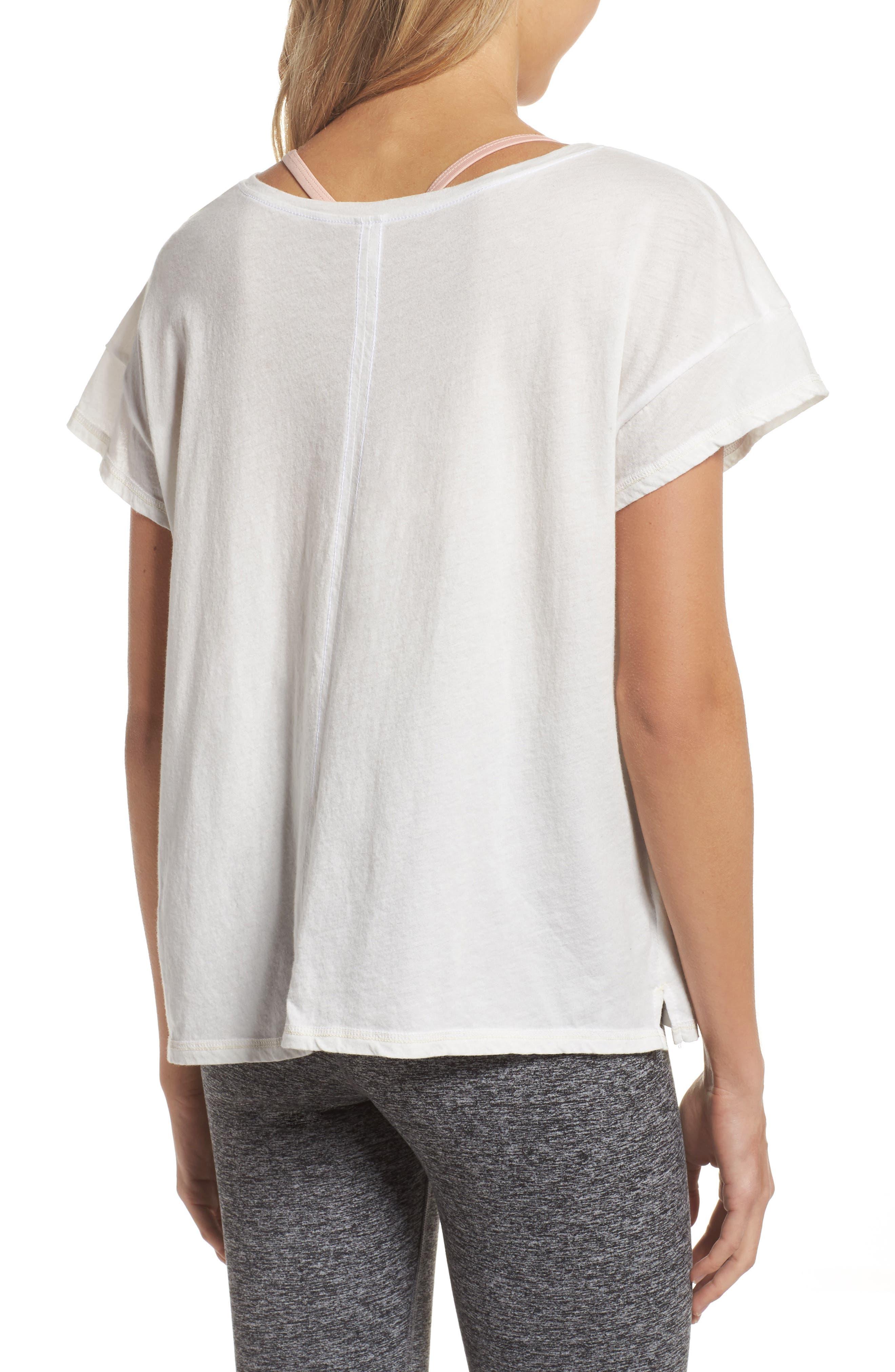 Claire To Do List Graphic Shirt,                             Alternate thumbnail 2, color,                             Salt