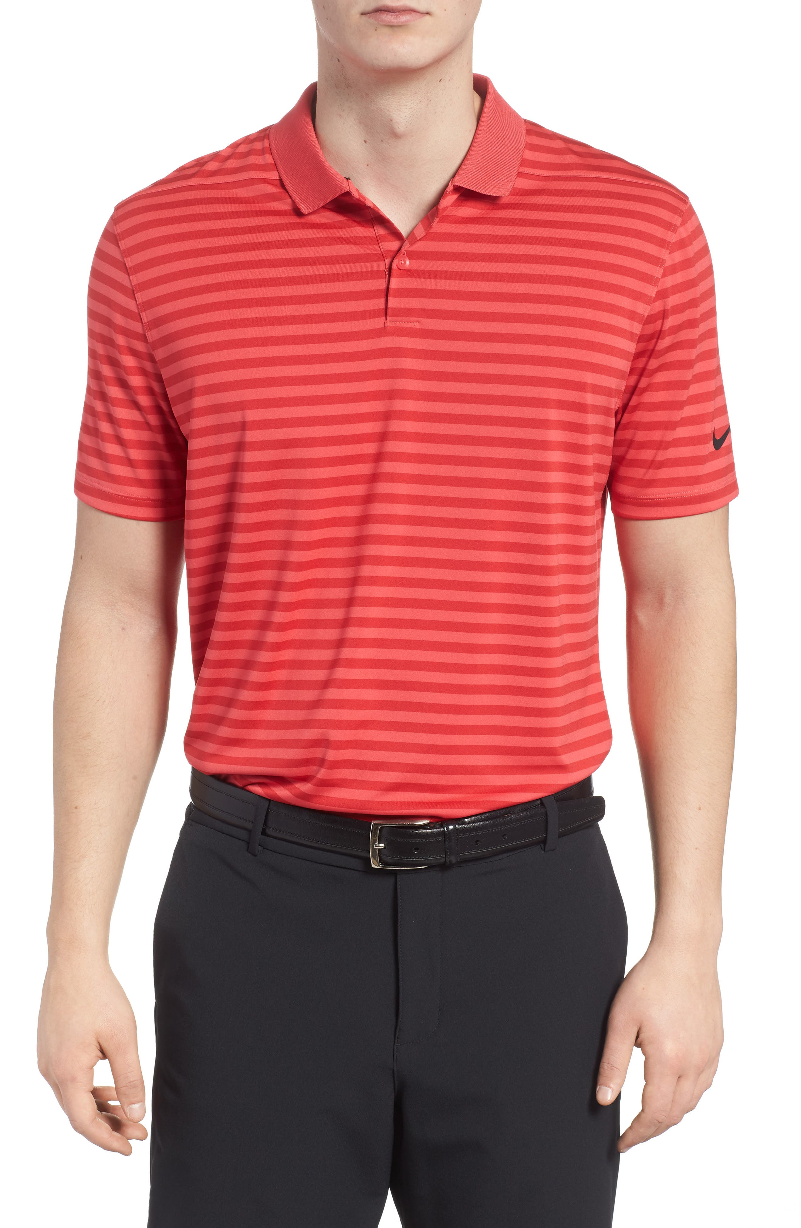 Nike Dry Victory Stripe Golf Polo