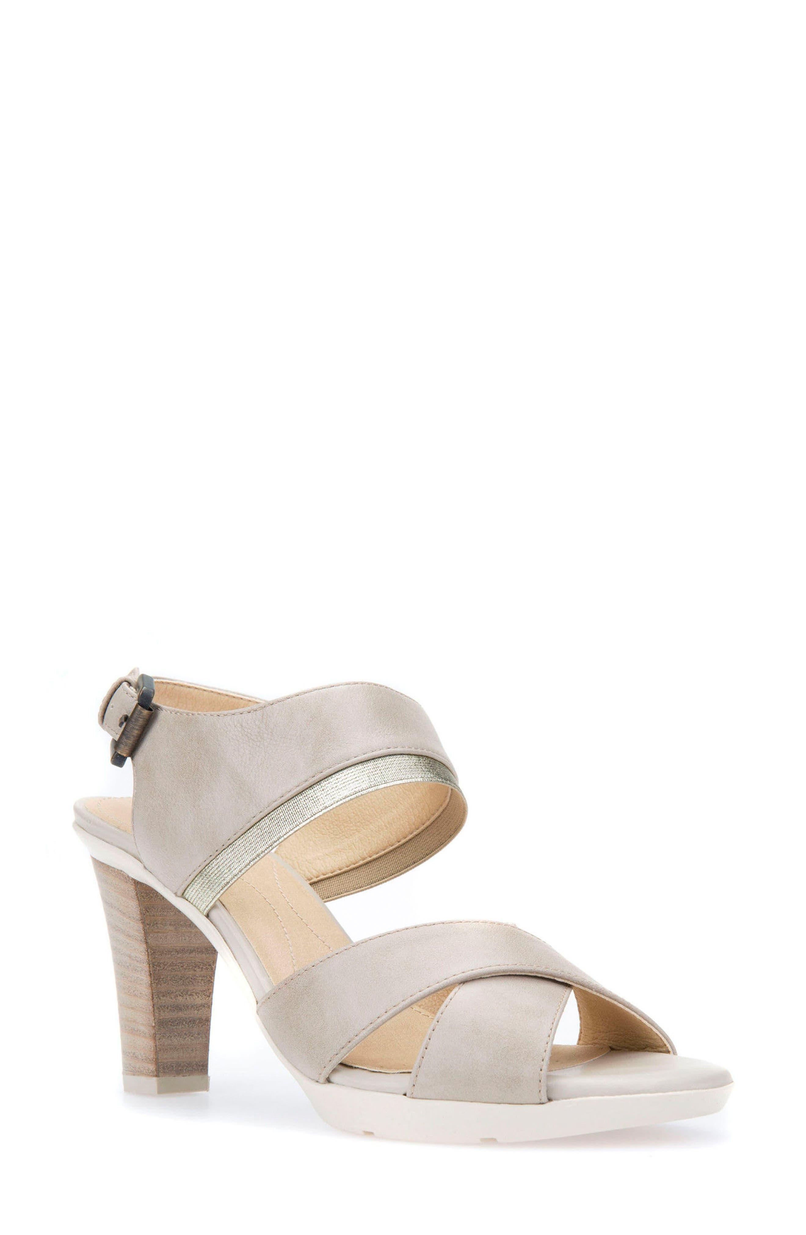 Jadlis Sandal,                         Main,                         color, Beige Leather