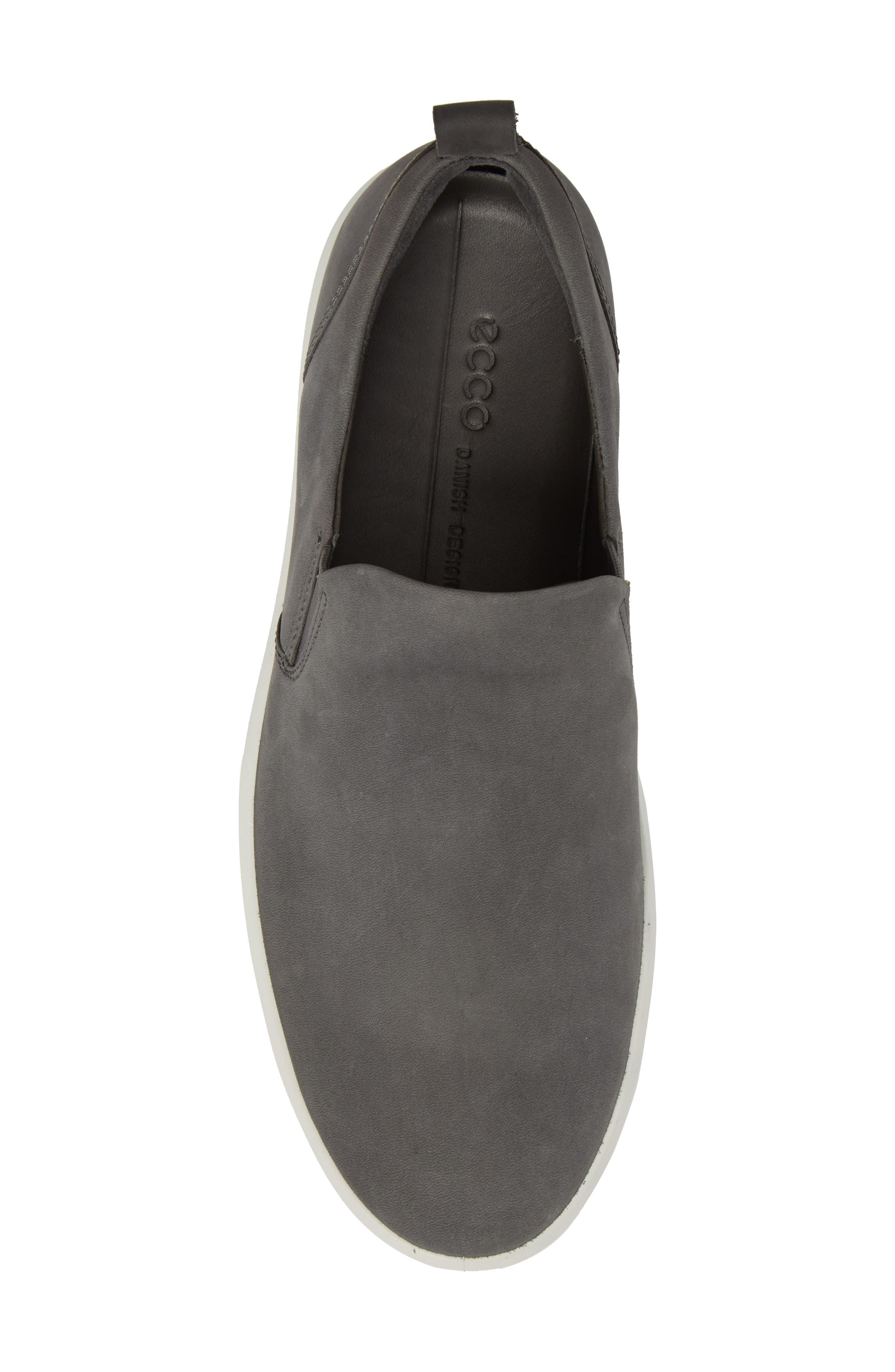 Soft 8 Slip-On,                             Alternate thumbnail 5, color,                             Dark Shadow Leather