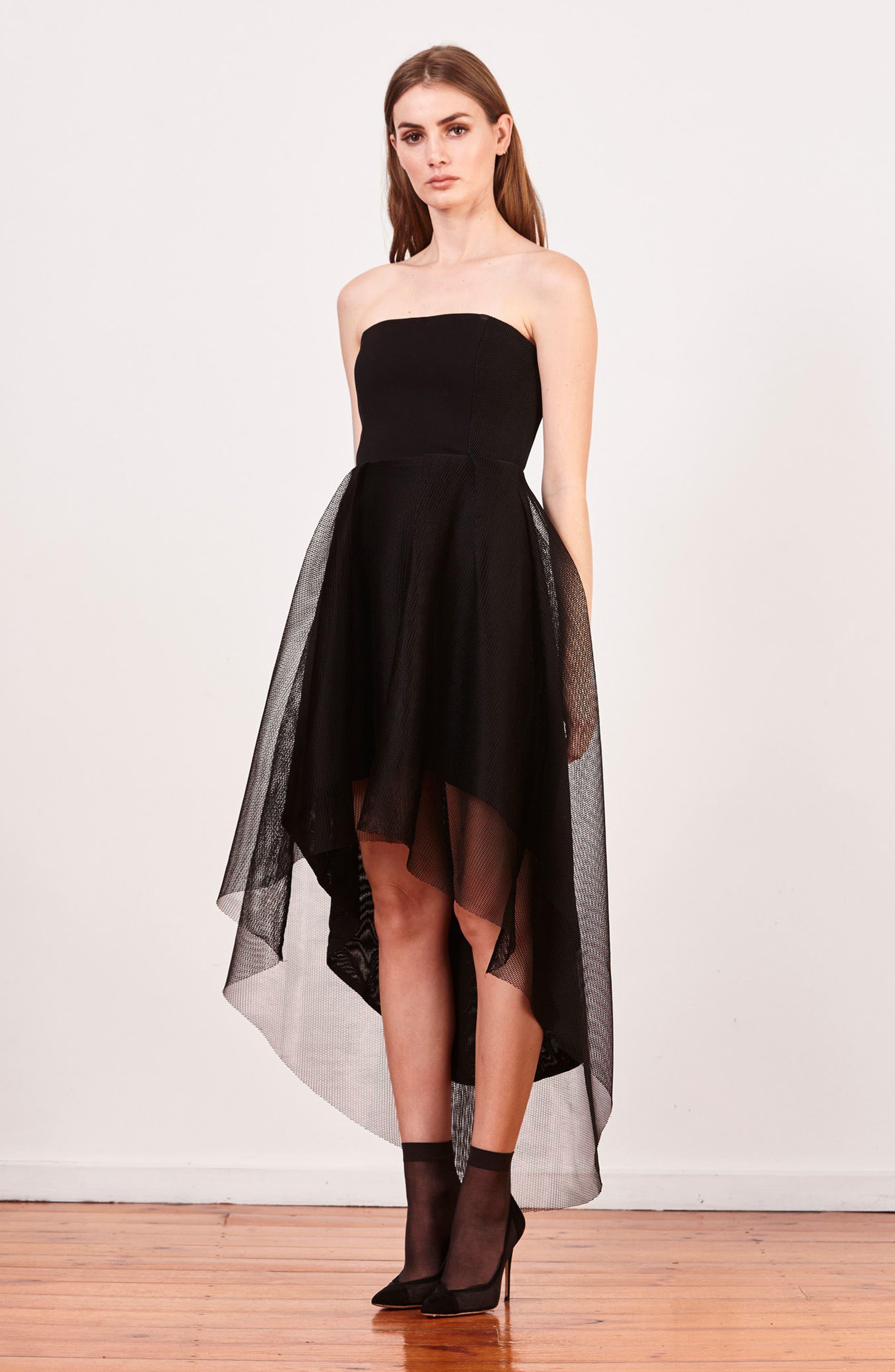 Alternate Image 6  - Elliatt Elysian High/Low Dress